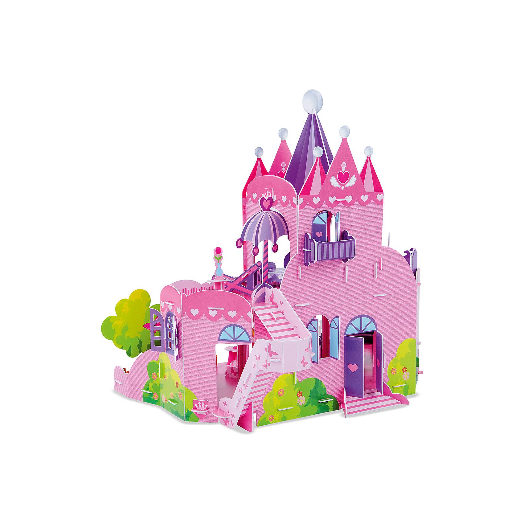 Melissa & Doug 3D пазл Кукольный домик, Melissa & Doug пазл кукольный дом 102671