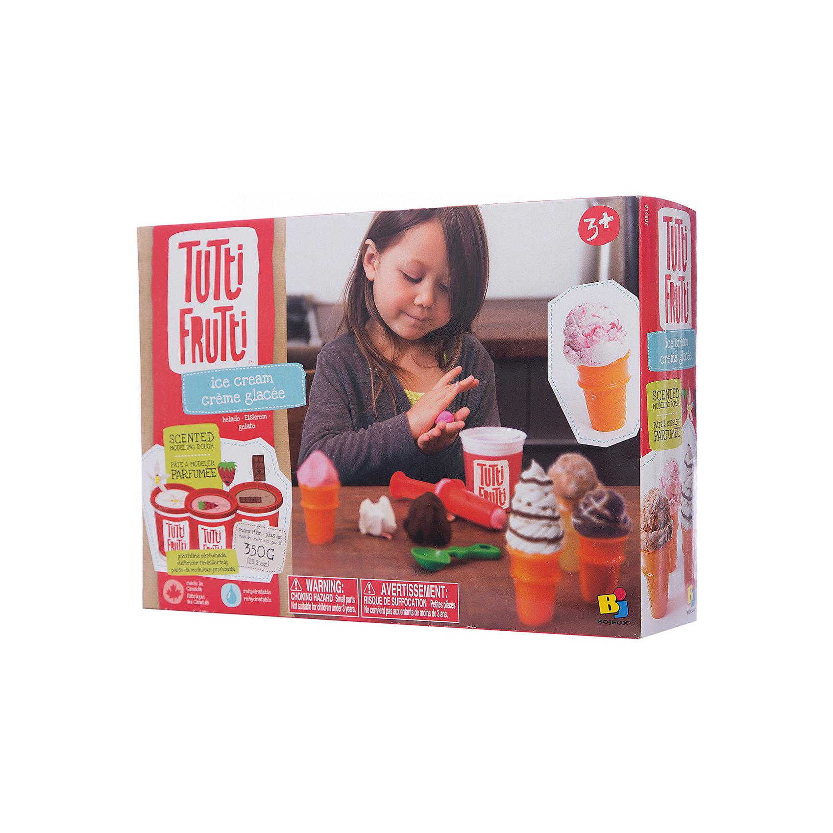 Мороженое - Набор массы для лепкиХарактеристики товара:<br><br>• упаковка: коробка<br>• комплектация: масса для лепки, инструменты, посуда и красочная инструкция<br>• масса приятно пахнет<br>• цветов: 3<br>• материал: мука, соль, вода<br>• возраст: от трех лет<br>• развивающая<br>• страна бренда: Канада<br>• страна производства: Канада<br><br>Лепка - отличный способ занять ребенка. Это не только занимательно, но и очень полезно! С помощью такого набора для творчества ребенок сможет сам сделать еду с помощью инструментов, а дальше - делать более сложные предметы. Эта масса для лепки - безопасный материал, который приятно пахнет, она сделана из муки, воды и соли. В комплекте - масса для лепки и инструменты.<br>Такое занятие помогает детям развивать многие важные навыки и способности: они тренируют внимание, память, логику, мышление, мелкую моторику, а также усидчивость и аккуратность. Изделие производится из качественных сертифицированных материалов, безопасных даже для самых маленьких.<br><br>Мороженое - Набор массы для лепки можно купить в нашем интернет-магазине.<br><br>Ширина мм: 182<br>Глубина мм: 72<br>Высота мм: 300<br>Вес г: 620<br>Возраст от месяцев: 36<br>Возраст до месяцев: 108<br>Пол: Женский<br>Возраст: Детский<br>SKU: 5075320