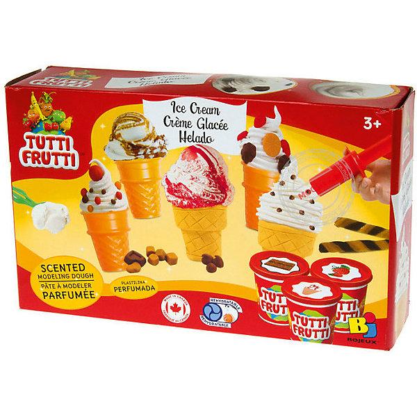 Мороженое - Набор массы для лепкиНаборы для лепки игровые<br><br>Ширина мм: 182; Глубина мм: 72; Высота мм: 300; Вес г: 620; Возраст от месяцев: 36; Возраст до месяцев: 108; Пол: Унисекс; Возраст: Детский; SKU: 5075321;