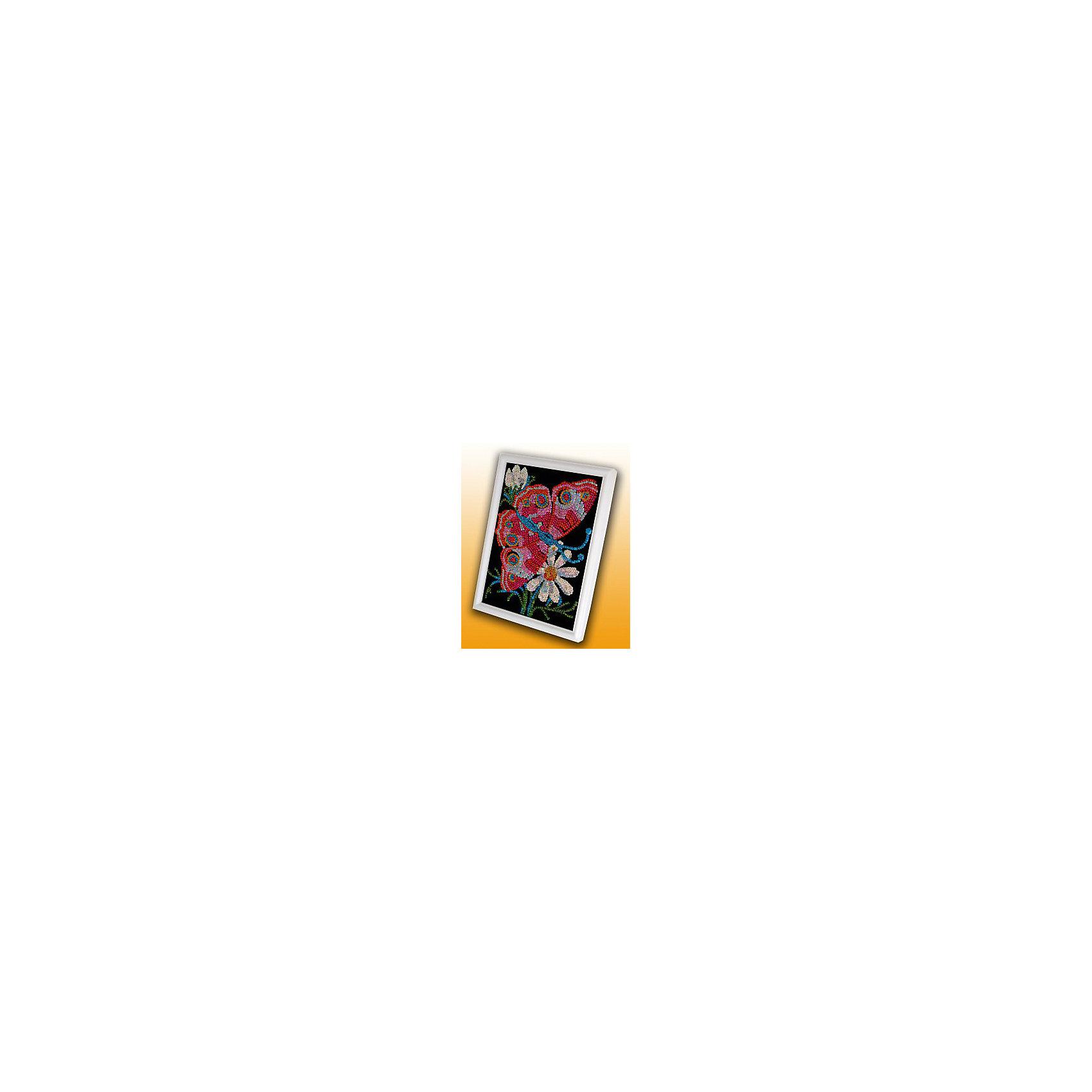 Волшебная мастерская Мозаика из пайеток Бабочка мозаика голографическая бабочка 2 а6 с2600 10