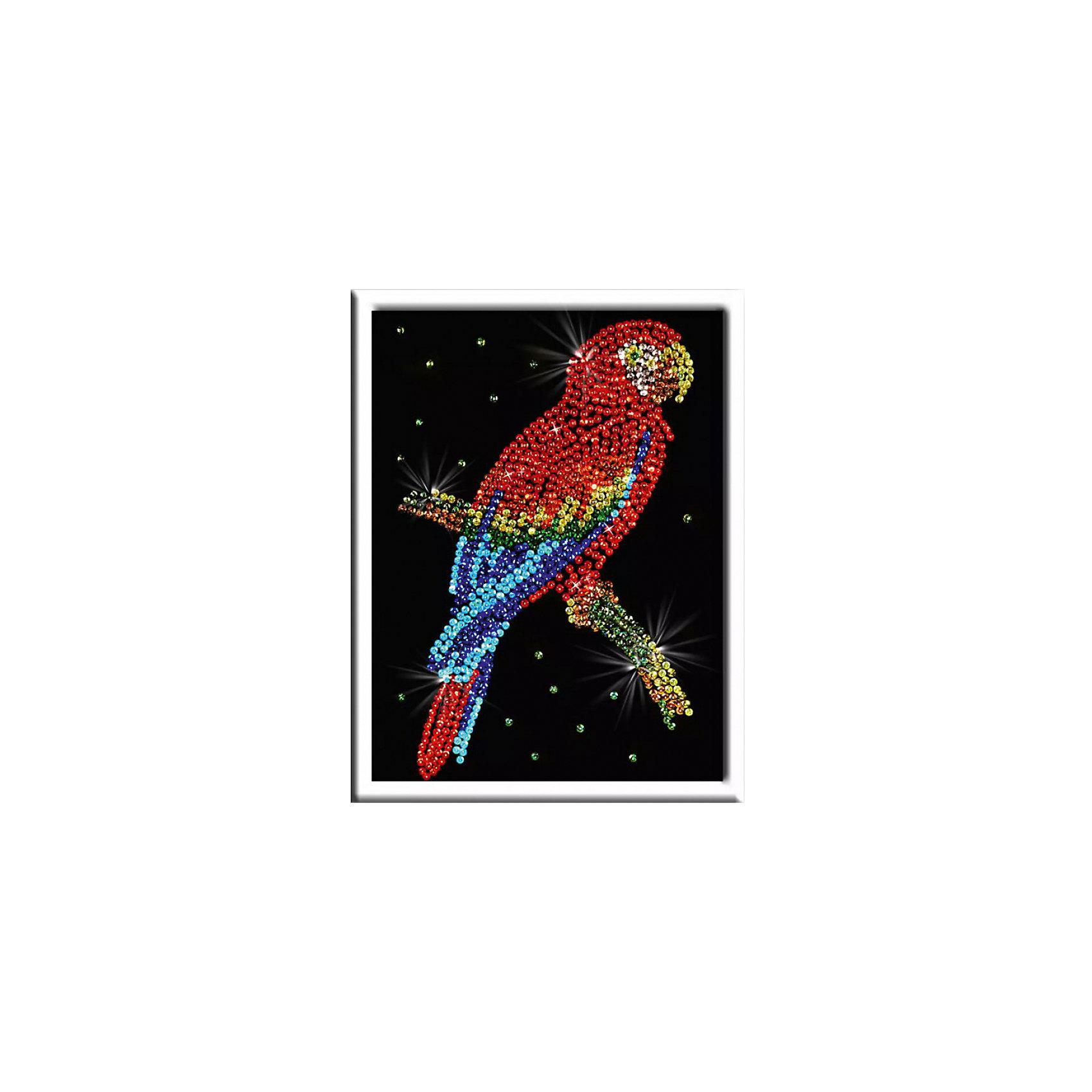 Волшебная мастерская Мозаика из пайеток Попугай какаду волшебная мастерская мозаика из пайеток попугай какаду