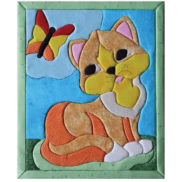 Набор для тв-ва Кинусайга КошкаМозаика детская<br>Кинусайга или как ее еще называют пэчворк без иглы - техника рукоделия, зародившаяся на Востоке, в Японии. Это необыкновенный способ создания картин, не требующий применения иголки. Использовать данную технику можно практически во всем: в создании панно, шкатулок, игрушек, предметов интерьера. Лоскутная мозаика получила необыкновенную популярность во всем мире, нашла своих поклонников. Надеемся, она не оставит и вас равнодушными, порадует своей простотой исполнения, красотой, оригинальностью. Станет хорошим подарком друзьям и близким.<br>Ширина мм: 190; Глубина мм: 230; Высота мм: 20; Вес г: 120; Возраст от месяцев: 36; Возраст до месяцев: 108; Пол: Унисекс; Возраст: Детский; SKU: 5075378;