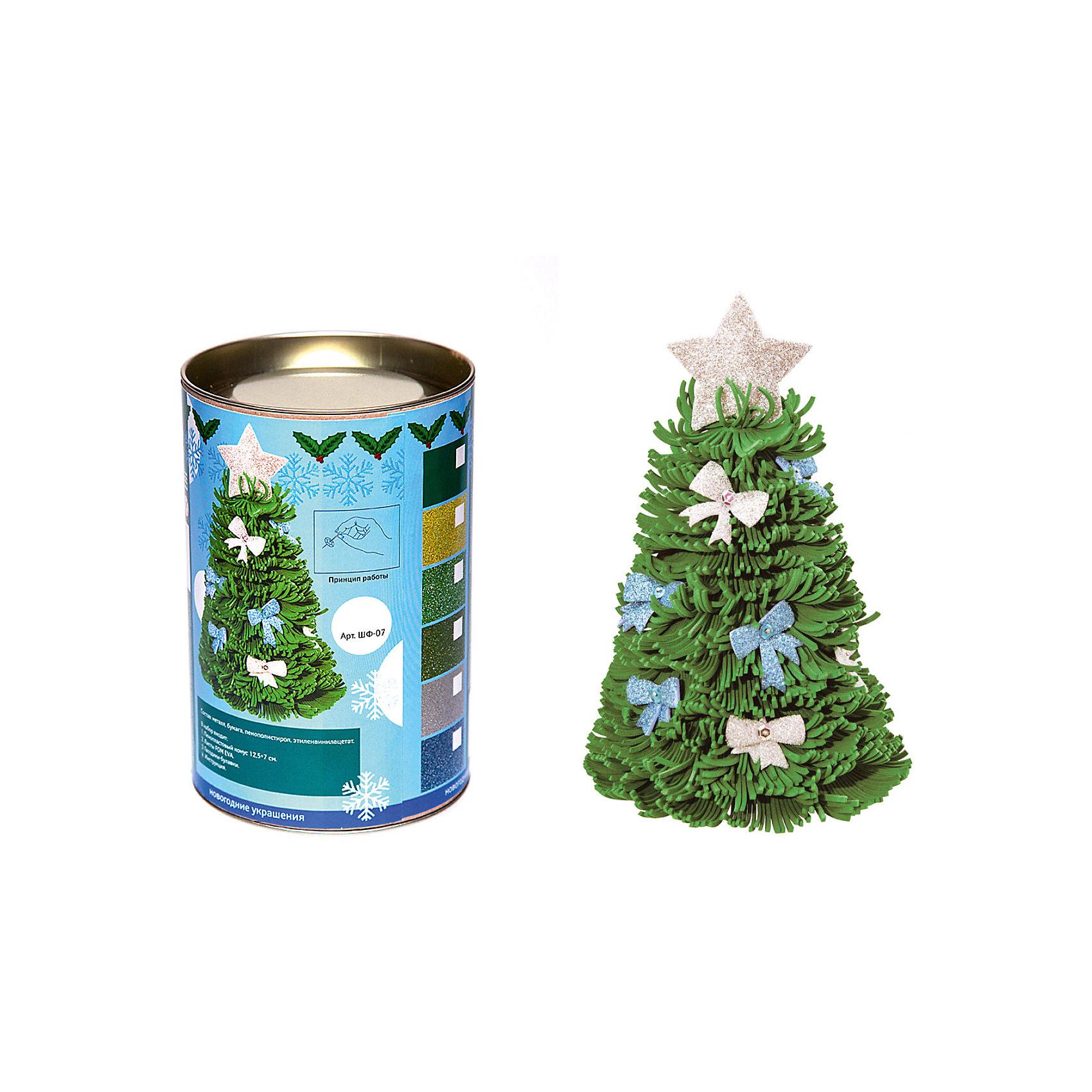 Волшебная мастерская Набор для тв-ва Новогодняя ёлочка волшебная страна сувенир ёлочка