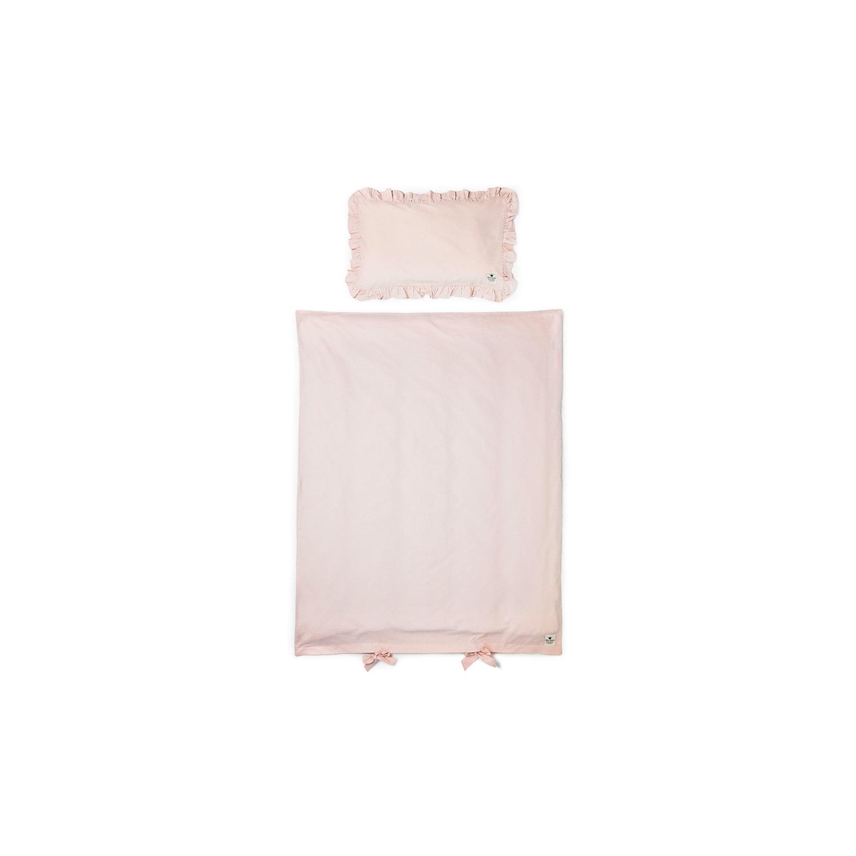 Постельное белье Powder Pink, Elodie Details, розовыйПостельное бельё<br>Постельное белье Powder Pink, Elodie Details, розовый.<br><br>Характеристики:<br><br>• Элементы комплекта изготовлены из очень гладкого и мягкого 100% органического хлопка-перкаль.<br>• Хлопок имеет сертификацию GOTS (выращен без использования вредных химических веществ).<br>• Подходит к большинству стандартных кроваток.<br>• К комплекту постельного белья также можно приобрести одеяло (продается отдельно).<br>• В комплекте: наволочка, пододеяльник<br>Размеры:<br>Пододеяльник, см: 100х130<br>Наволочка, см: 35х55<br><br>Постельное белье Powder Pink, Elodie Details, розовый от известного шведского производителя функциональных и инновационных товаров для детей. Вся продукцию Elodie Details отличает высокое качество, интересный дизайном, смелые новаторские и очень стильные узоры. Такой комплект, нежного розового цвета, сделает спальное место малыша уютным и подарит ему комфортный и здоровый сон.<br><br>Постельное белье Powder Pink, Elodie Details, розовый можно купить в нашем интернет-магазине.<br><br>Ширина мм: 390<br>Глубина мм: 270<br>Высота мм: 20<br>Вес г: 558<br>Возраст от месяцев: 0<br>Возраст до месяцев: 36<br>Пол: Унисекс<br>Возраст: Детский<br>SKU: 5077453
