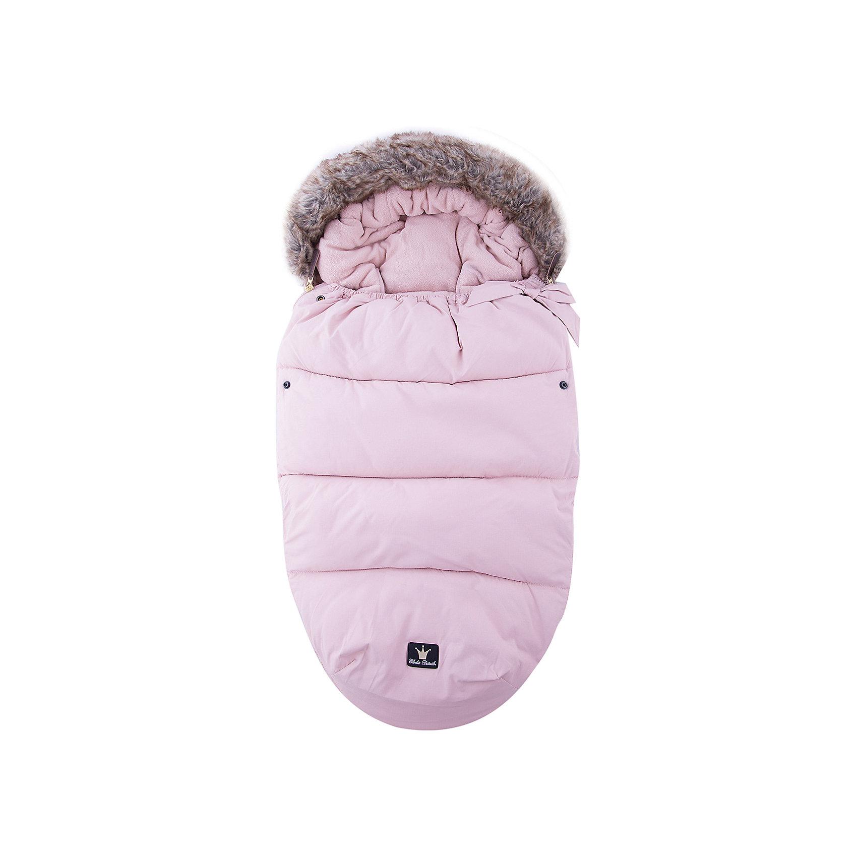 Конверт зимний с опушкой в коляску Powder Pink, Elodie DetailsКонверт зимний с опушкой в коляску Powder Pink, Elodie Details<br><br>Характеристики:<br><br>• Сезон: зима для температуры до -25 °C<br>• Цвет: пудрово-розовый .<br>• Материал верха: 60% вискоза, 40% полиуретан.<br>• Утеплитель: холлофайбер.<br>• Материал подклада: флис.<br>• Оторочка из искусственного меха Colar.<br>• Тип застежки: молния.<br><br>Размер:<br>- длина 110см;<br>- ширина 53см.<br><br>Конверт зимний с опушкой в коляску Powder Pink, Elodie Details–это новинка от шведского бренда Elodie Details. Теплый, легкий и удобный, он обеспечит вашему малышу оптимальный комфорт и тепло. Покрытие конверта изготовлено по новейшей технологии BIONIC-FINISH® ECO, благодаря чему надежно защищено от ветра, влаги и снега. Этот зимний конверт подходит к любому типу колясок. Верхняя часть конверта оторочена  искусственным мехом и может использоваться, как капюшон. Ножки ребенка остаются не зафиксированными. В качестве наполнителя в конверте использован  холлофайбер — инновационный, экологически чистый и гипоаллергенный материал, который обеспечивает качественное сохранение тепла. В конверте предусмотрены отверстия для 5-точечных ремней безопасности. Конверт зимний с опушкой в коляску Powder Pink, Elodie Details не требует специального ухода, его можно стирать в стиральной машине, используя указанный режим.<br>Зимние прогулки в таком конверте могут быть длительными и приятными!<br><br><br>Конверт зимний с опушкой в коляску Powder Pink, Elodie Details, можно купить в нашем интернет - магазине.<br><br>Ширина мм: 1100<br>Глубина мм: 530<br>Высота мм: 60<br>Вес г: 900<br>Возраст от месяцев: 0<br>Возраст до месяцев: 24<br>Пол: Женский<br>Возраст: Детский<br>SKU: 5077472