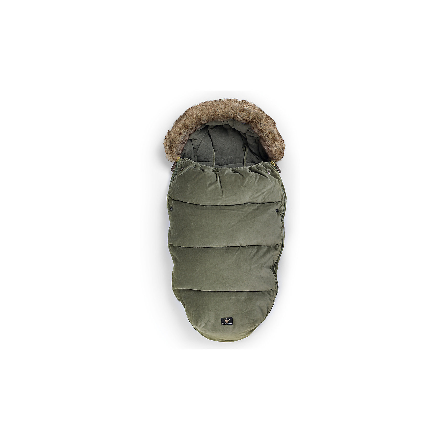 Конверт зимний с опушкой в коляску Woodland Green, Elodie DetailsКонверт зимний с опушкой в коляску Woodland Green, Elodie Details.<br><br>Характеристики:<br><br>• Сезон: зима для температуры до -25 °C<br>• Цвет: бархатно-зеленый оттенок.<br>• Материал верха: 60% вискоза, 40% полиуретан.<br>• Утеплитель: холлофайбер.<br>• Материал подклада: флис.<br>• Оторочка из искусственного меха Colar.<br>• Тип застежки: молния.<br><br>Размер:<br>- длина 110см;<br>- ширина 53см.<br><br>Конверт зимний с опушкой в коляску Woodland Green, Elodie Details –это новинка от шведского бренда Elodie Details. Теплый, легкий и удобный, он обеспечит вашему малышу оптимальный комфорт и тепло. Покрытие конверта изготовлено по новейшей технологии BIONIC-FINISH® ECO, благодаря чему надежно защищено от ветра, влаги и снега. Этот зимний конверт подходит к любому типу колясок. Верхняя часть конверта оторочена  искусственным мехом и может использоваться, как капюшон. Ножки ребенка остаются не зафиксированными. В качестве наполнителя в конверте использован  холлофайбер — инновационный, экологически чистый и гипоаллергенный материал, который обеспечивает качественное сохранение тепла. В конверте предусмотрены отверстия для 5-точечных ремней безопасности. Конверт зимний с опушкой в коляску Woodland Green, Elodie Details не требует специального ухода, его можно стирать в стиральной машине, используя указанный режим.<br>Зимние прогулки в таком конверте могут быть длительными и приятными!<br><br><br>Конверт зимний с опушкой в коляску Woodland Green, Elodie Details, можно купить в нашем интернет - магазине.<br><br>Ширина мм: 1100<br>Глубина мм: 530<br>Высота мм: 60<br>Вес г: 900<br>Возраст от месяцев: 0<br>Возраст до месяцев: 24<br>Пол: Унисекс<br>Возраст: Детский<br>SKU: 5077474