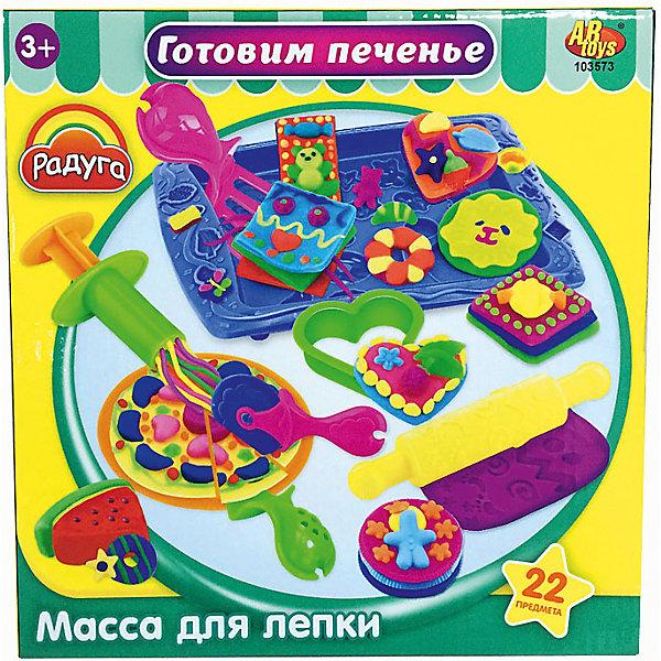 Набор Масса для лепки Готовим печеньеНаборы для лепки<br>Масса для лепки Готовим печенье (22 предмета), Радуга<br><br>Характеристика:<br><br>-В набор входит 22 предметов:<br>-4 разноцветные баночки с массой для лепки<br>-тематические аксессуары<br>-Состав: пластилин, пластмасса <br>-Возраст: от 3 лет<br>-Производитель: MERX Limited<br><br>Благодаря мягкой текстуре массы для лепки, ребёнку будет не трудно создавать искусственное печенье. В этом ребёнку поможет множество тематических аксессуаров. Лепка влияет на развитие моторики рук, воображения и фантазии. Масса для лепки Готовим печенье подарить ребёнку много положительных эмоций.<br><br>Масса для лепки Готовим печенье (22 предмета), Радуга можно приобрести в нашем интернет-магазине.<br><br>Ширина мм: 225<br>Глубина мм: 225<br>Высота мм: 65<br>Вес г: 365<br>Возраст от месяцев: 36<br>Возраст до месяцев: 144<br>Пол: Женский<br>Возраст: Детский<br>SKU: 5078265