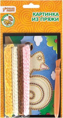 Color Puppy Набор для творчества Картинка из пряжи , в ассортименте