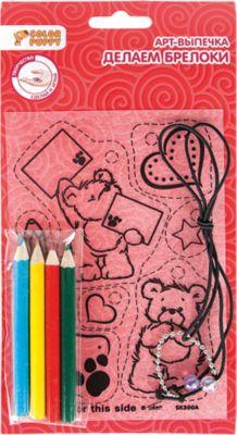 Color Puppy Набор для творчества Арт-выпечка Брелоки Мишка , в ассортименте
