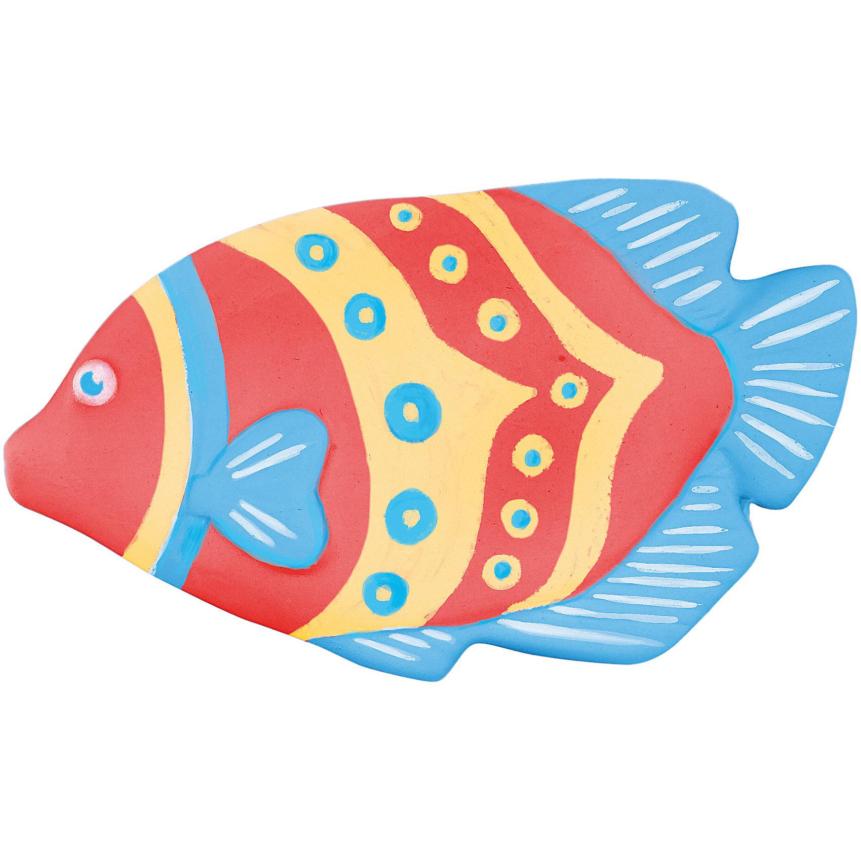"""Color Puppy Набор для творчества роспись """"Цветная рыбка"""" краски"""