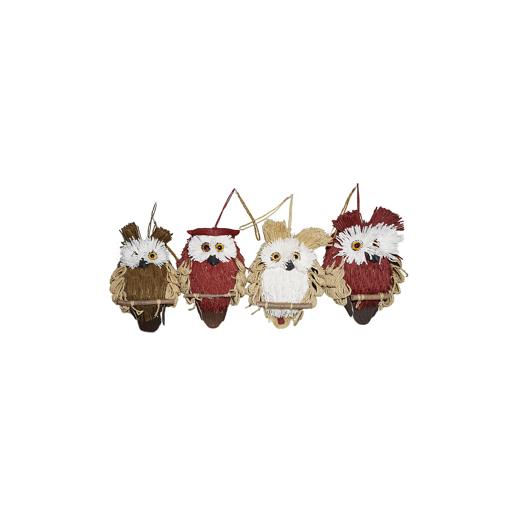 Украшение для декора Сова 15 см, в ассортиментеВсё для праздника<br>Порой уют нашего дома зависит от одной маленькой детали. Такой деталью может стать декоративная фигурка «Сова». С помощью игрушки можно оформить интерьер или украсить новогоднюю елку. <br> Высота игрушки: 15 см .<br><br>Ширина мм: 160<br>Глубина мм: 140<br>Высота мм: 60<br>Вес г: 87<br>Возраст от месяцев: 36<br>Возраст до месяцев: 420<br>Пол: Унисекс<br>Возраст: Детский<br>SKU: 5078405