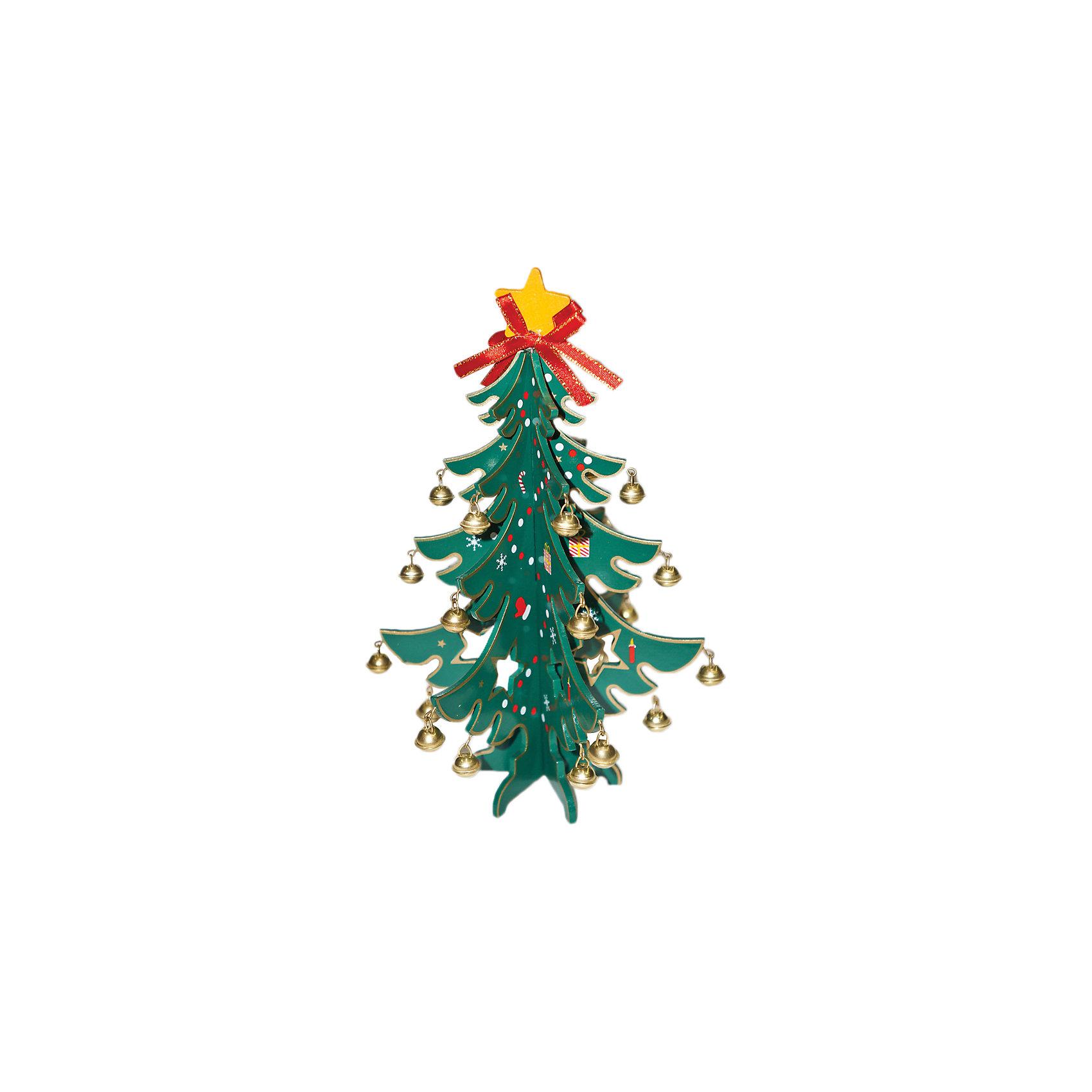 Деревянная елочка с колокольчиками, 23 смЕлочка деревянная с колокольчиками - необычный новогодний аксессуар, который украсит ваш дом или офис. Высота елочки: 23 см.<br><br>Ширина мм: 180<br>Глубина мм: 210<br>Высота мм: 50<br>Вес г: 144<br>Возраст от месяцев: 36<br>Возраст до месяцев: 420<br>Пол: Унисекс<br>Возраст: Детский<br>SKU: 5078411
