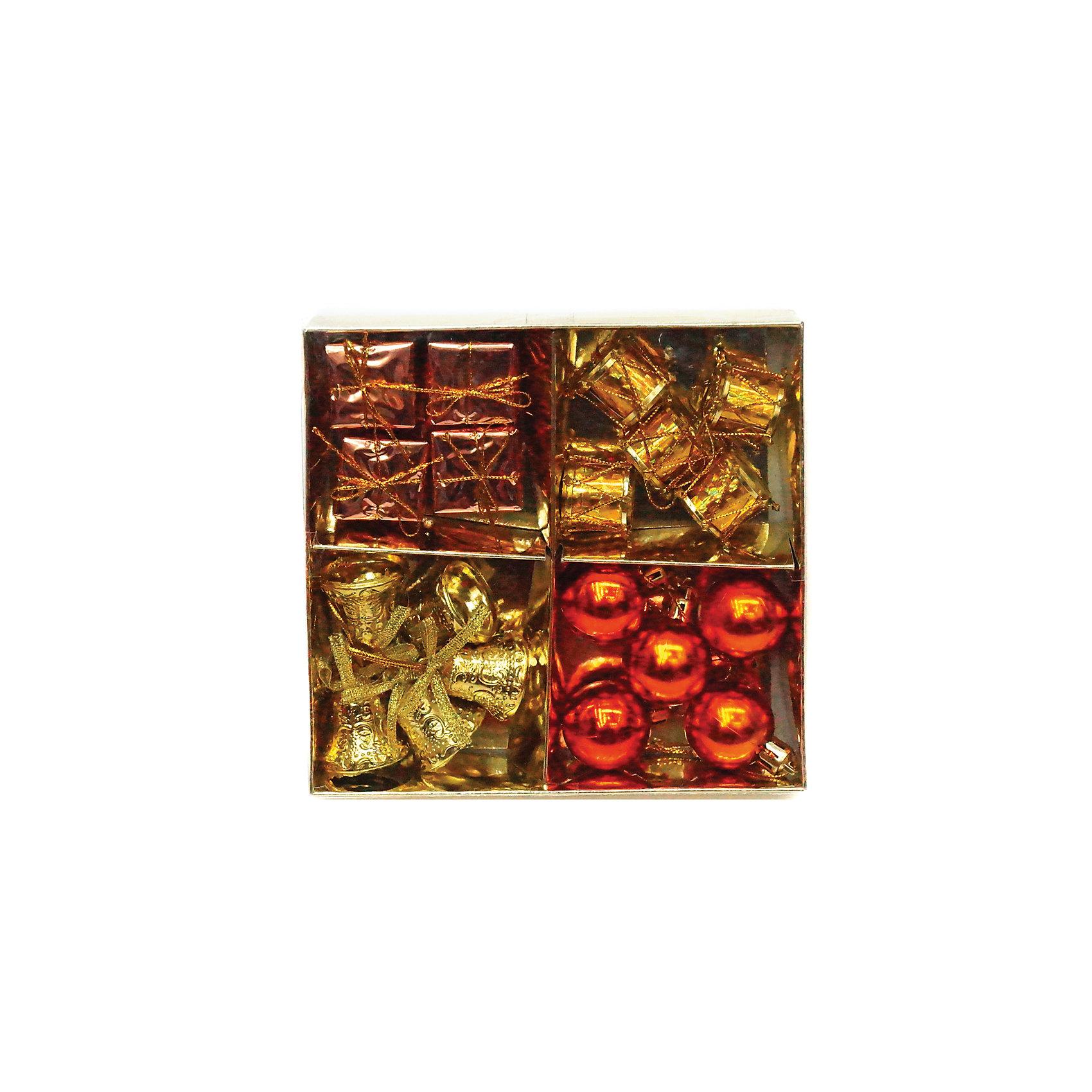 Набор елочных украшений 3 см, 16 штВсё для праздника<br>Набор елочных украшений украсит вашу елкуи придаст ей новогоднее настроение.Размер украшения 3 см.В наборе16 шт<br><br>Ширина мм: 155<br>Глубина мм: 155<br>Высота мм: 30<br>Вес г: 77<br>Возраст от месяцев: 36<br>Возраст до месяцев: 420<br>Пол: Унисекс<br>Возраст: Детский<br>SKU: 5078435