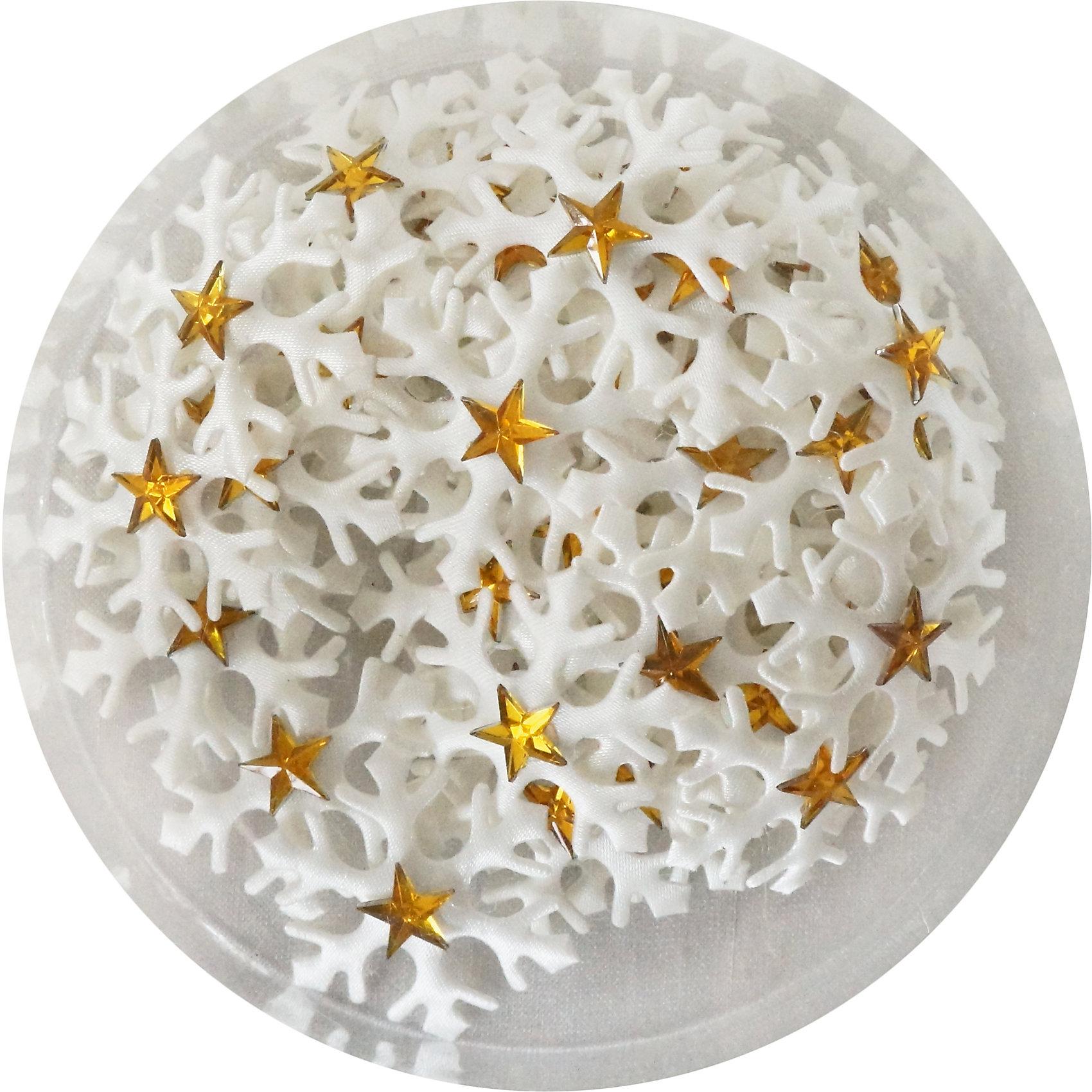 Набор стикеров Снежинка 3,5 см, 48 шт, ткань, золотоНабо рзолотых стикеров Снежинка украсит ваш интерьер и придаст ему новогоднее настроение.Размер стикера 3,5 см.В наборе 48 шт<br><br>Ширина мм: 105<br>Глубина мм: 20<br>Высота мм: 105<br>Вес г: 18<br>Возраст от месяцев: 36<br>Возраст до месяцев: 420<br>Пол: Унисекс<br>Возраст: Детский<br>SKU: 5078450