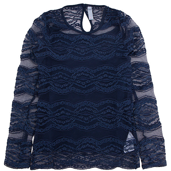 Купить Блузка для девочки S'cool, Китай, синий, 158, 152, 146, 140, 134, 128, 122, 164, Женский