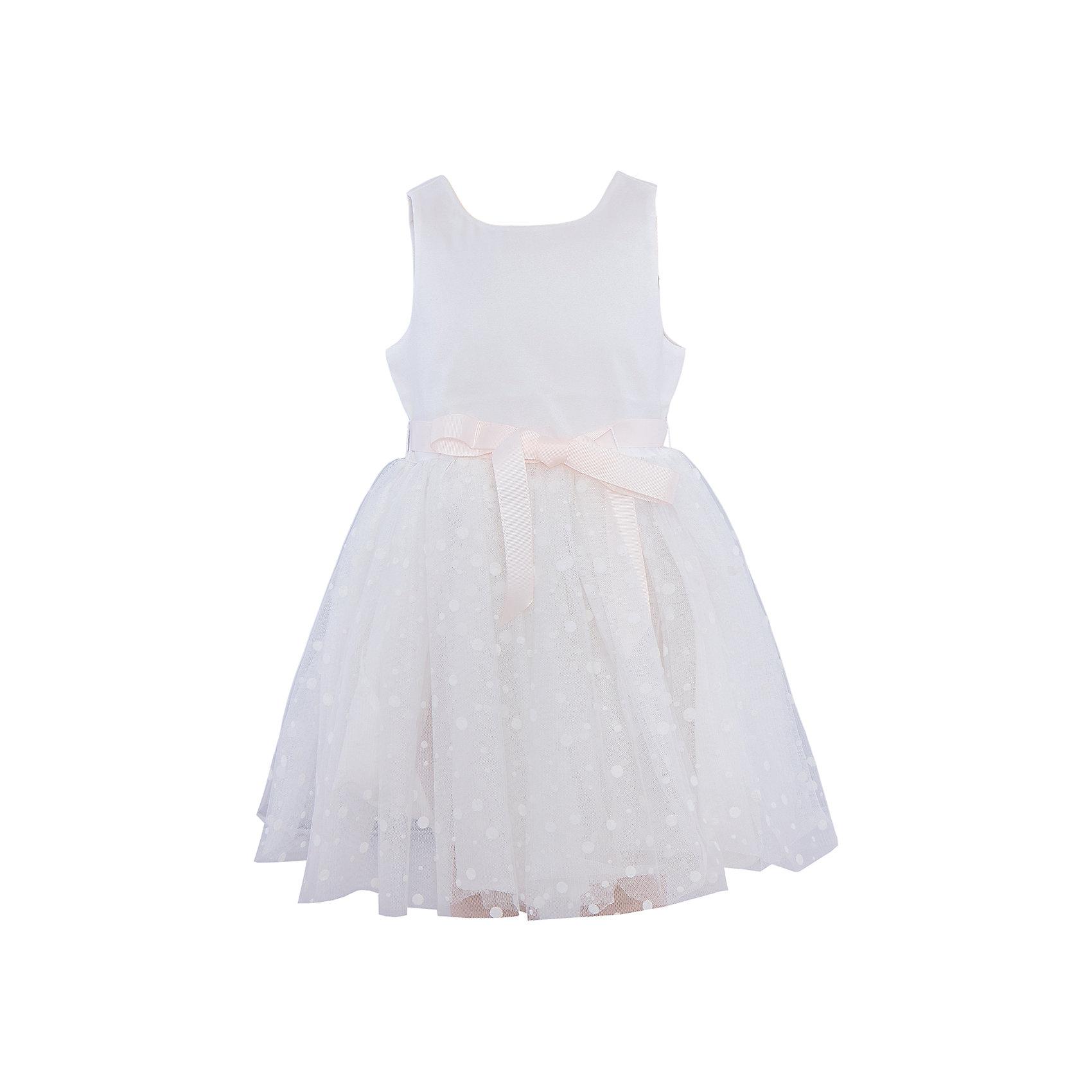 Нарядное платье для девочки SELAПлатье для девочки SELA.<br><br>Характеристики:<br><br>• Цвет молочный.<br>• Рукав короткий.<br>• Силуэт расклешенный.<br>• Состав: верх:100% ПЭ; низ:100% ПЭ; подкладка:100% хлопок.<br><br>Очаровательное платье для девочки от популярного бренда SELA приведет в восторг любую модницу! Нарядное платье выглядит очень нежно, легко, оно выполнено из воздушного материала , мягкого и приятного к телу. Поясок выполнен в виде атласной ленты. Прекрасное платье для юной прелестницы!<br><br>Платье для девочки SELA, можно купить в нашем интернет - магазине.<br><br>Ширина мм: 236<br>Глубина мм: 16<br>Высота мм: 184<br>Вес г: 177<br>Цвет: белый<br>Возраст от месяцев: 18<br>Возраст до месяцев: 24<br>Пол: Женский<br>Возраст: Детский<br>Размер: 92,116,110,104,98<br>SKU: 5078934