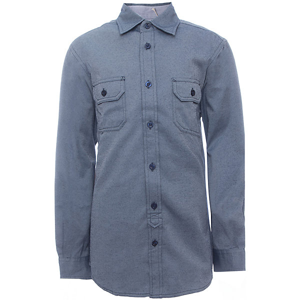 Рубашка для мальчика SELAБлузки и рубашки<br>Рубашка для мальчика Sela.<br><br>Характеристики:<br><br>• Цвет серый.<br>• Рукав длинный.<br>• Силуэт прямой.<br>• Сезон: демисезонный.<br>• Состав:60% хлопок, 40% ПЭ; отделка:100% хлопок.<br><br>Удобная рубашка - незаменимая вещь в гардеробе школьников. Эта модель отлично сидит на ребенке, она сделана из приятного на ощупь материала, мягкая и дышащая. Рубашка украшена накладными карманами с клапанами, а также контрастной отстрочкой. Натуральный хлопок в составе ткани не вызывает аллергии и обеспечивает ребенку комфорт. Модель станет отличной базовой вещью, которая будет уместна в различных сочетаниях.<br>Одежда от бренда Sela (Села) - это качество по приемлемым ценам. Многие российские родители уже оценили преимущества продукции этой компании и всё чаще приобретают одежду и аксессуары Sela.<br><br>Рубашку для мальчика Sela,можно купить в нашем интернет- магазине.<br><br>Ширина мм: 174<br>Глубина мм: 10<br>Высота мм: 169<br>Вес г: 157<br>Цвет: синий<br>Возраст от месяцев: 96<br>Возраст до месяцев: 108<br>Пол: Мужской<br>Возраст: Детский<br>Размер: 128,122,116,152,146,140,134<br>SKU: 5078943