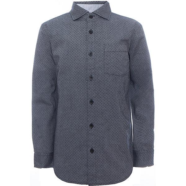 Рубашка для мальчика SELAБлузки и рубашки<br>Рубашка для мальчика Sela.<br><br>Характеристики:<br><br>• Цвет серый.<br>• Рукав длинный.<br>• Силуэт прямой.<br>• Сезон: демисезонный.<br>• Состав:100% хлопок.<br><br>Удобная рубашка - незаменимая вещь в гардеробе школьников. Эта модель отлично сидит на ребенке, она сделана из приятного на ощупь материала, мягкая и дышащая. Рубашка украшена накладным карманом, интересным принтом. Натуральный хлопок в составе ткани не вызывает аллергии и обеспечивает ребенку комфорт. Модель станет отличной базовой вещью, которая будет уместна в различных сочетаниях.<br>Одежда от бренда Sela (Села) - это качество по приемлемым ценам. Многие российские родители уже оценили преимущества продукции этой компании и всё чаще приобретают одежду и аксессуары Sela.<br><br>Рубашку для мальчика Sela,можно купить в нашем интернет- магазине.<br>Ширина мм: 174; Глубина мм: 10; Высота мм: 169; Вес г: 157; Цвет: синий; Возраст от месяцев: 120; Возраст до месяцев: 132; Пол: Мужской; Возраст: Детский; Размер: 146,152,140,134,128,122,116; SKU: 5078951;