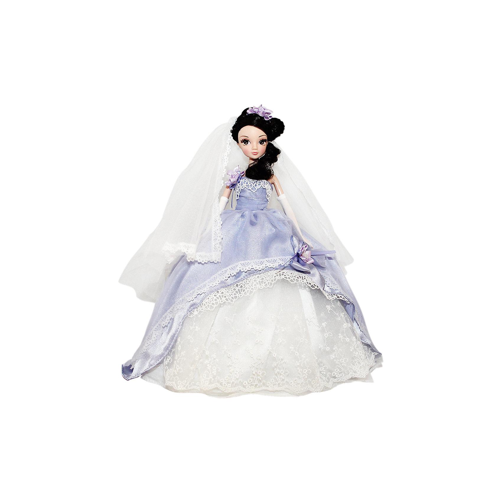 Кукла Нежная Сирень, серия Золотая коллекция, Sonya RoseБренды кукол<br>Характеристики товара:<br><br>- цвет: разноцветный;<br>- материал: пластик, текстиль;<br>- особенности: подвижные руки и ноги, голова;<br>- размер упаковки: 23х32х7 см;<br>- комплектация: кукла, одежда, аксессуары;<br>- размер куклы: 28 см.<br><br>Такие красивые куклы не оставят ребенка равнодушным! Какая девочка откажется поиграть с куклой в прекрасном свадебном платье?! Игрушка хорошо детализирована, очень качественно выполнена, поэтому она станет отличным подарком ребенку. В наборе идут одежда и аксессуары, которые можно снять!<br>При играх с куклами у детей активизируется мышление, воображение, развиваются творческие способности, нарабатываются варианты социального взаимодействия, дети учатся заботиться о других. Изделие произведено из высококачественного материала, безопасного для детей.<br><br>Куклу Нежная Сирень, серия Золотая коллекция, от бренда Sonya Rose можно купить в нашем интернет-магазине.<br><br>Ширина мм: 230<br>Глубина мм: 320<br>Высота мм: 70<br>Вес г: 352<br>Возраст от месяцев: 36<br>Возраст до месяцев: 2147483647<br>Пол: Женский<br>Возраст: Детский<br>SKU: 5079157