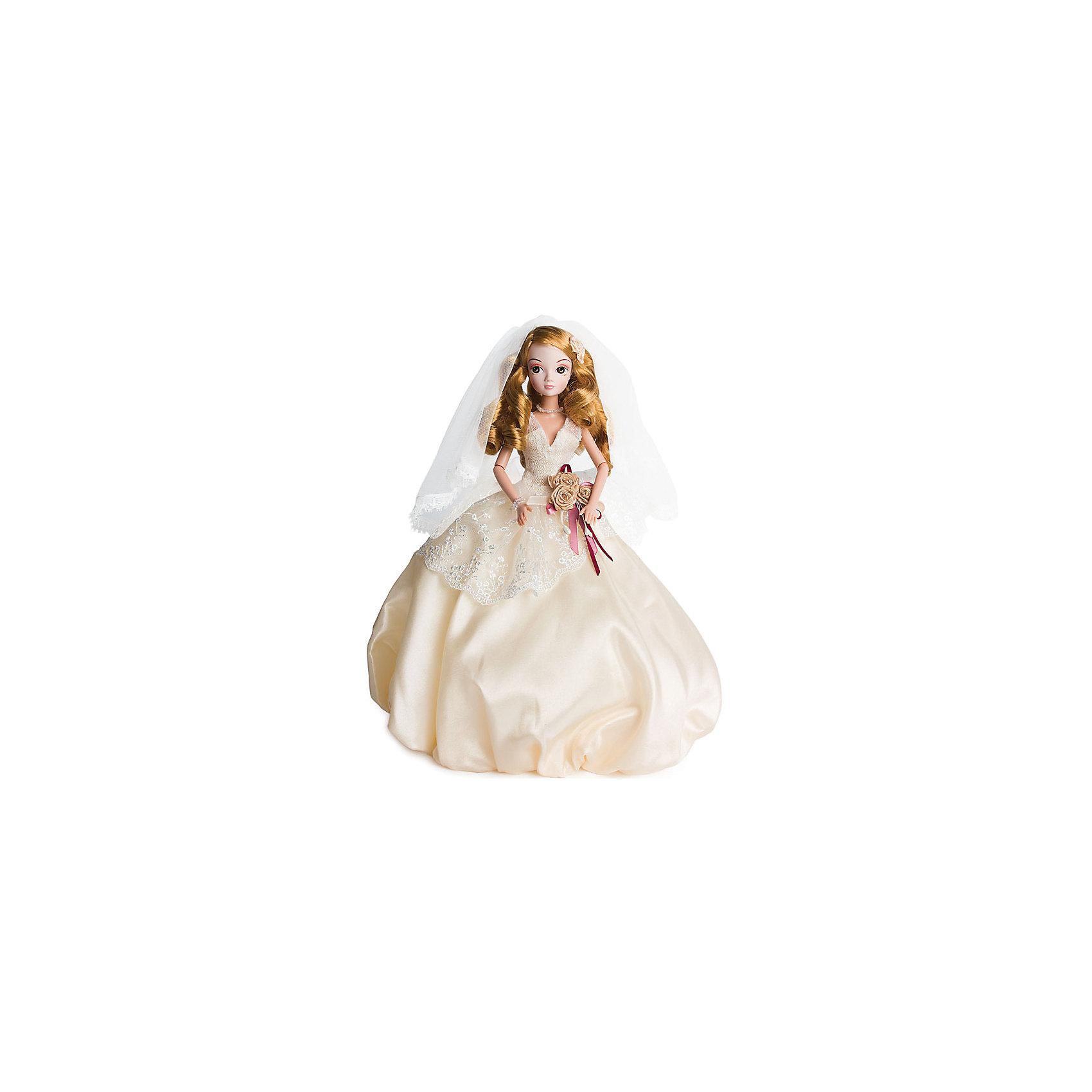 Кукла Адель, серия Золотая коллекция, Sonya RoseБренды кукол<br>Характеристики товара:<br><br>- цвет: разноцветный;<br>- материал: пластик, текстиль;<br>- особенности: подвижные руки и ноги, голова;<br>- размер упаковки: 23х32х7 см;<br>- комплектация: кукла, одежда, аксессуары;<br>- размер куклы: 27 см.<br><br>Такие красивые куклы не оставят ребенка равнодушным! Какая девочка откажется поиграть с куклой в прекрасном дизайнерском вечернем платье ручной работы?! Игрушка хорошо детализирована, очень качественно выполнена, поэтому она станет отличным подарком ребенку. В наборе идут одежда и аксессуары, которые можно снять! Кукла продается в нарядной подарочной упаковке.<br>При играх с куклами у детей активизируется мышление, воображение, развиваются творческие способности, нарабатываются варианты социального взаимодействия, дети учатся заботиться о других. Изделие произведено из высококачественного материала, безопасного для детей.<br><br>Куклу Адель, серия Золотая коллекция, от бренда Sonya Rose можно купить в нашем интернет-магазине.<br><br>Ширина мм: 230<br>Глубина мм: 320<br>Высота мм: 70<br>Вес г: 366<br>Возраст от месяцев: 36<br>Возраст до месяцев: 2147483647<br>Пол: Женский<br>Возраст: Детский<br>SKU: 5079166