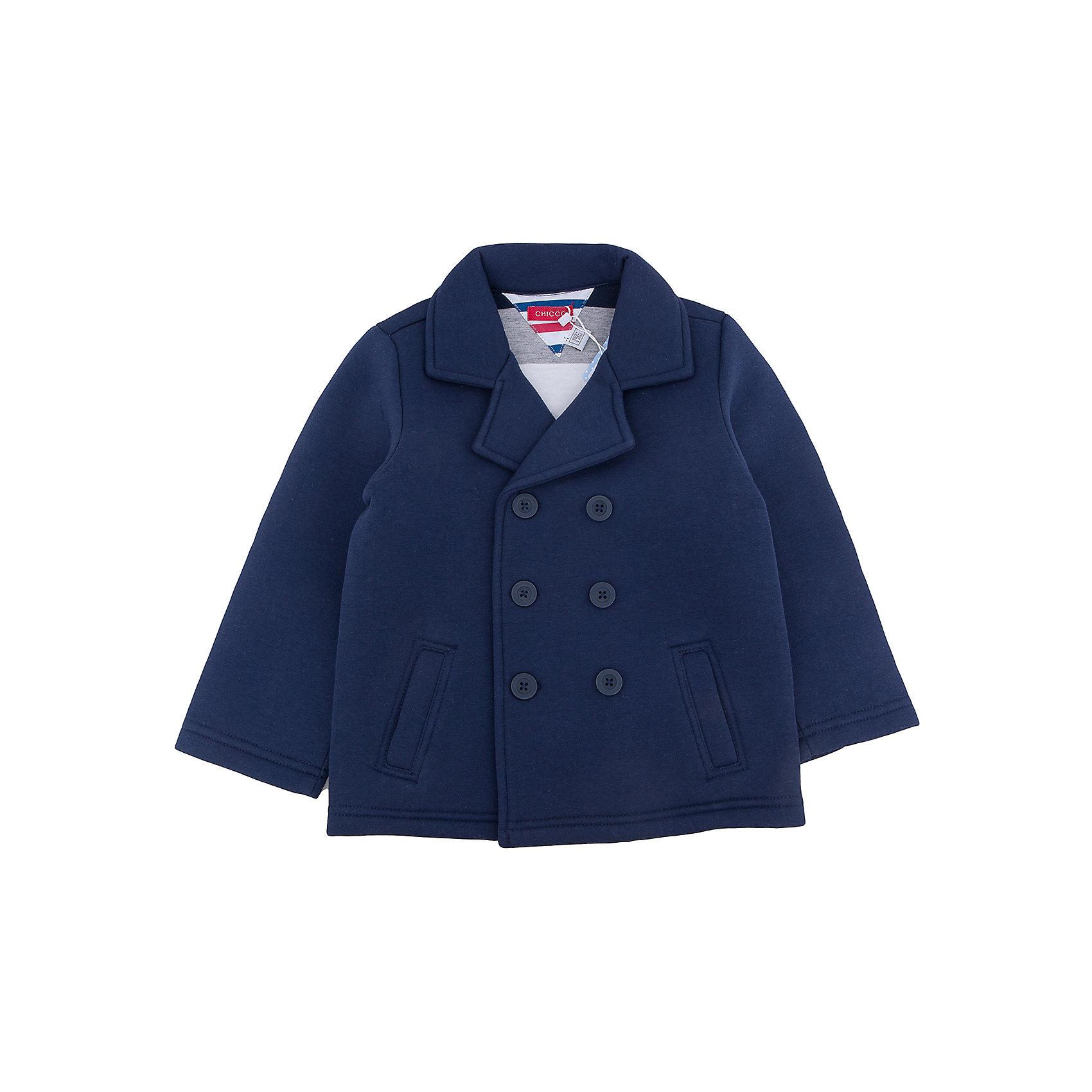 КУРТКА  для мальчика CHICCOВерхняя одежда<br>Куртка CHICCO для мальчика<br><br>Характеристики:<br><br>Материал: хлопковая ткань<br>Вид застежки: пуговицы<br>Силуэт: приталенный<br>Длина рукава: длинные<br>Тип карманов: с карманами<br><br>Состав: 60% хлопок, 40% полиэстер<br><br>Куртку CHICCO для мальчика можно купить в нашем интернет-магазине.<br><br>Ширина мм: 356<br>Глубина мм: 10<br>Высота мм: 245<br>Вес г: 519<br>Цвет: полуночно-синий<br>Возраст от месяцев: 48<br>Возраст до месяцев: 60<br>Пол: Мужской<br>Возраст: Детский<br>Размер: 110,116,122,128,92,98,104<br>SKU: 5079403