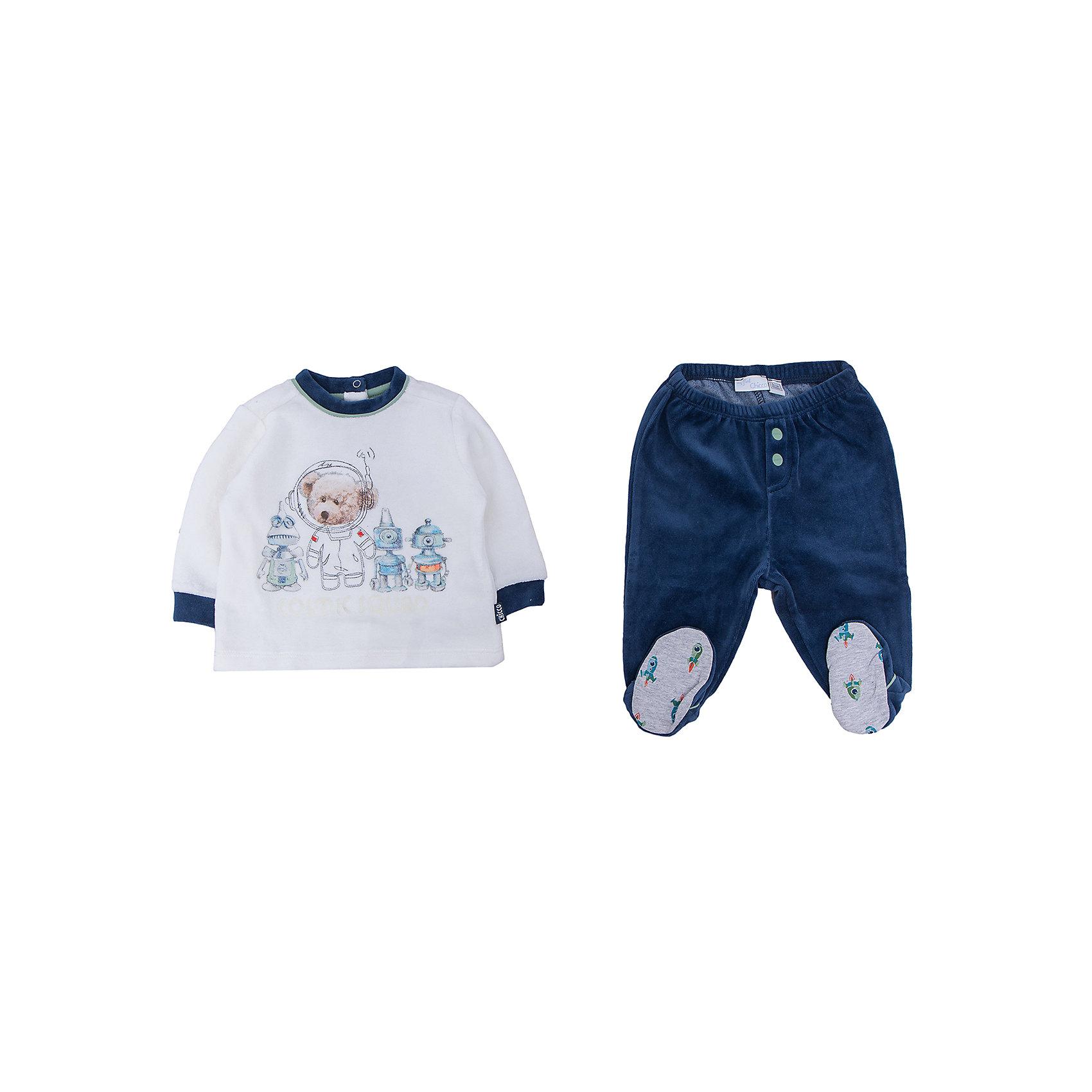 CHICCO Комплект CHICCO для мальчика chicco футболка chicco для мальчика