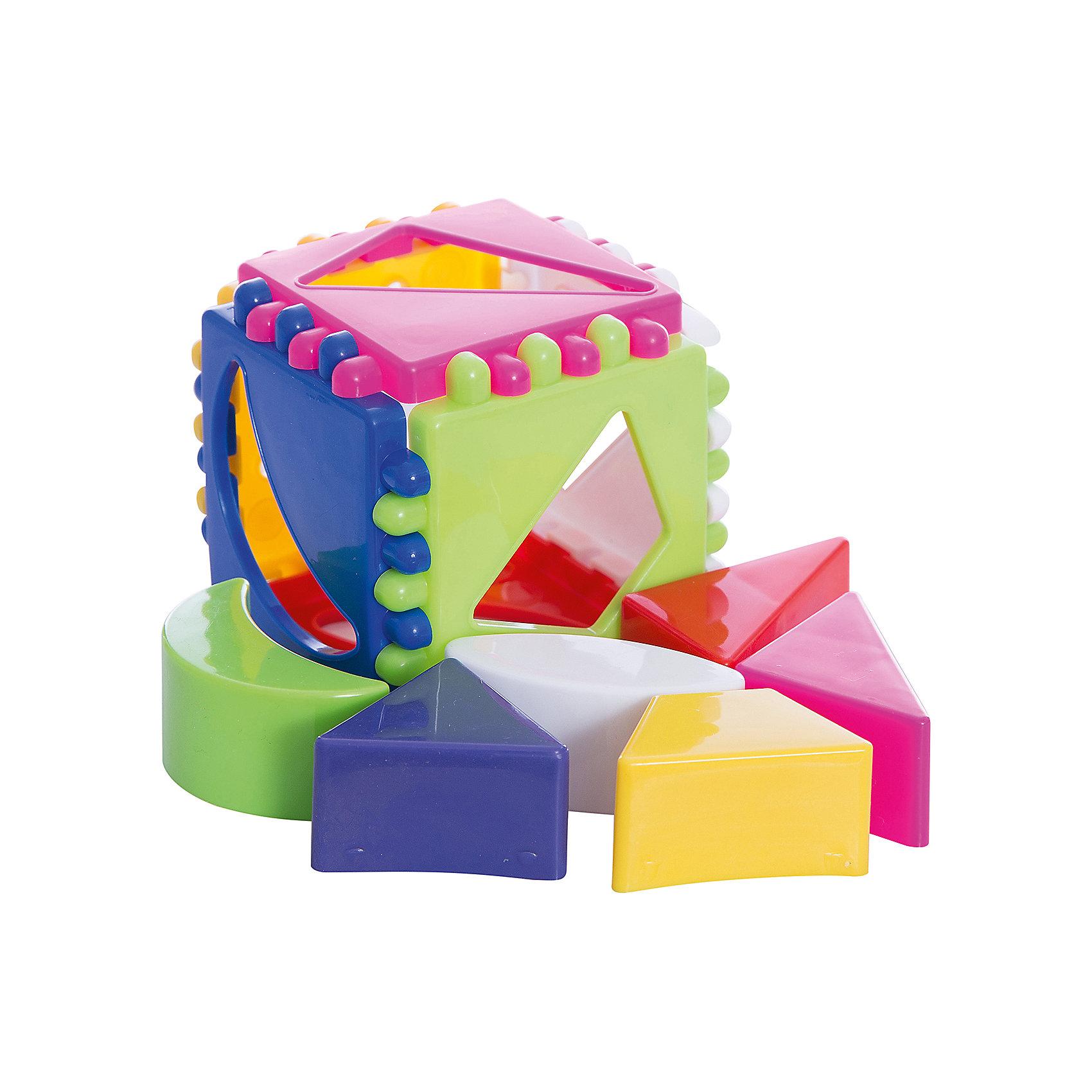 Логический кубик малый, StellarКубики<br>Характеристики товара:<br><br>- цвет: разноцветный;<br>- материал: пластик;<br>- возраст: от 1 года;<br>- размер: 8х8х8 см;<br>- размер одной пластины: 8х8 см.<br><br>Этот яркий куб будет помогать всестороннему развитию малыша и занимать его. Этот набор предназначен для формирования разных навыков, он помогает развить тактильное восприятие, мелкую моторику, воображение, цветовосприятие, внимание и логику. Также куб дополнен сортером - с его помощью малыш научится соотносить формы.<br>Изделие выполнено в ярких цветах, привлекающих внимание малыша. С такой игрушкой детям очень нравится проводить время! Изделие произведено из качественных материалов, безопасных для ребенка.<br><br>Логический кубик малый от бренда Stellar можно купить в нашем интернет-магазине.<br><br>Ширина мм: 80<br>Глубина мм: 80<br>Высота мм: 80<br>Вес г: 90<br>Возраст от месяцев: 12<br>Возраст до месяцев: 2147483647<br>Пол: Унисекс<br>Возраст: Детский<br>SKU: 5079943