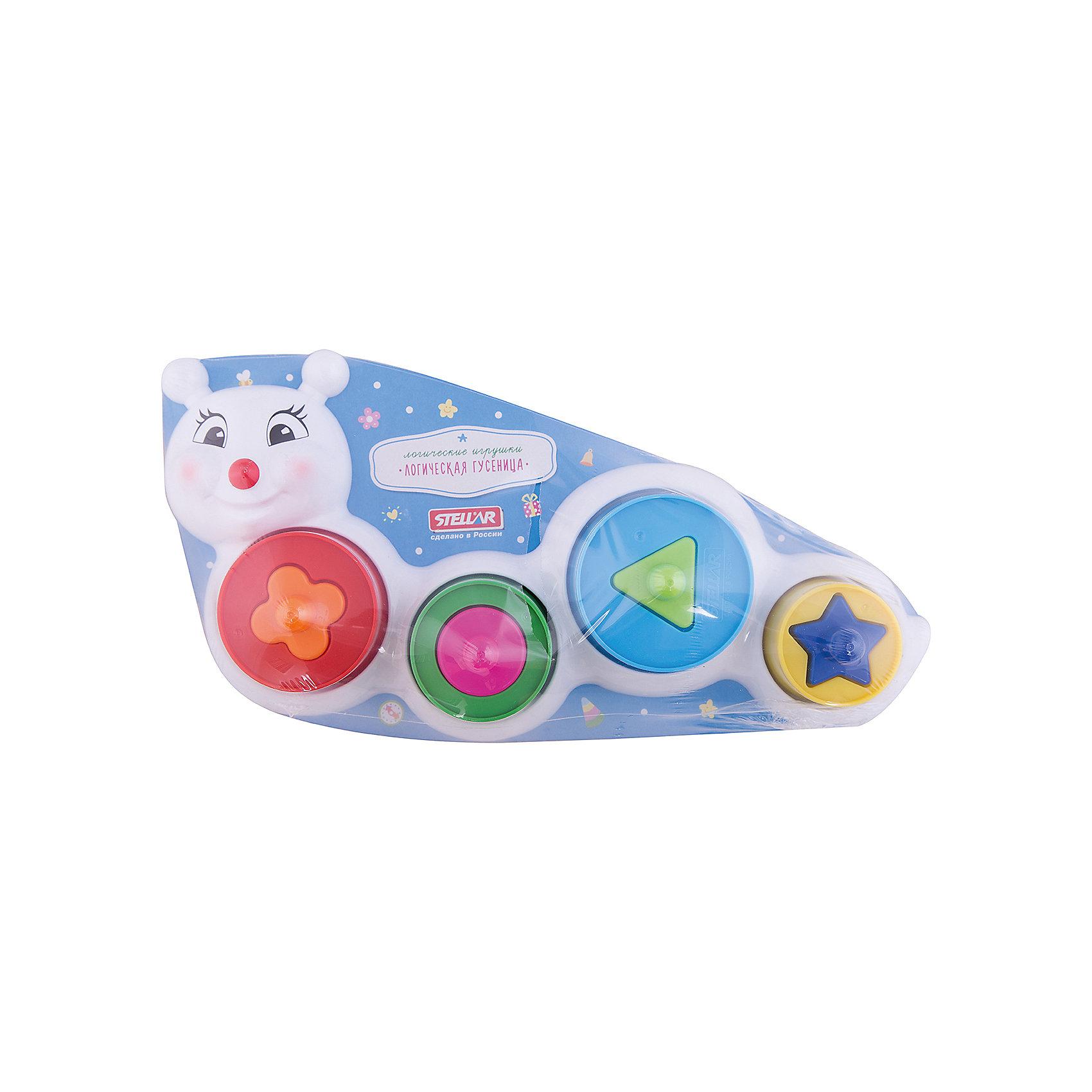 Логическая Гусеница, StellarРазвивающие игрушки<br>Характеристики товара:<br><br>- цвет: разноцветный;<br>- материал: пластик;<br>- возраст: от 1 года;<br>- размер: 30х16х19 см;<br>- пирамидка, сортер.<br><br>Эта игрушка будет помогать всестороннему развитию малыша и занимать его. Такой набор предназначен для формирования разных навыков, он помогает развить тактильное восприятие, мелкую моторику, воображение, цветовосприятие, внимание и логику. Яркая гусеница-пирамидка дополнена сортером - с его помощью малыш научится соотносить формы.<br>Изделие выполнено в ярких цветах, привлекающих внимание малыша. С такой игрушкой детям очень нравится проводить время! Изделие произведено из качественных материалов, безопасных для ребенка.<br><br>Игрушку Логическая Гусеница от бренда Stellar можно купить в нашем интернет-магазине.<br><br>Ширина мм: 305<br>Глубина мм: 160<br>Высота мм: 190<br>Вес г: 200<br>Возраст от месяцев: 12<br>Возраст до месяцев: 2147483647<br>Пол: Унисекс<br>Возраст: Детский<br>SKU: 5079944