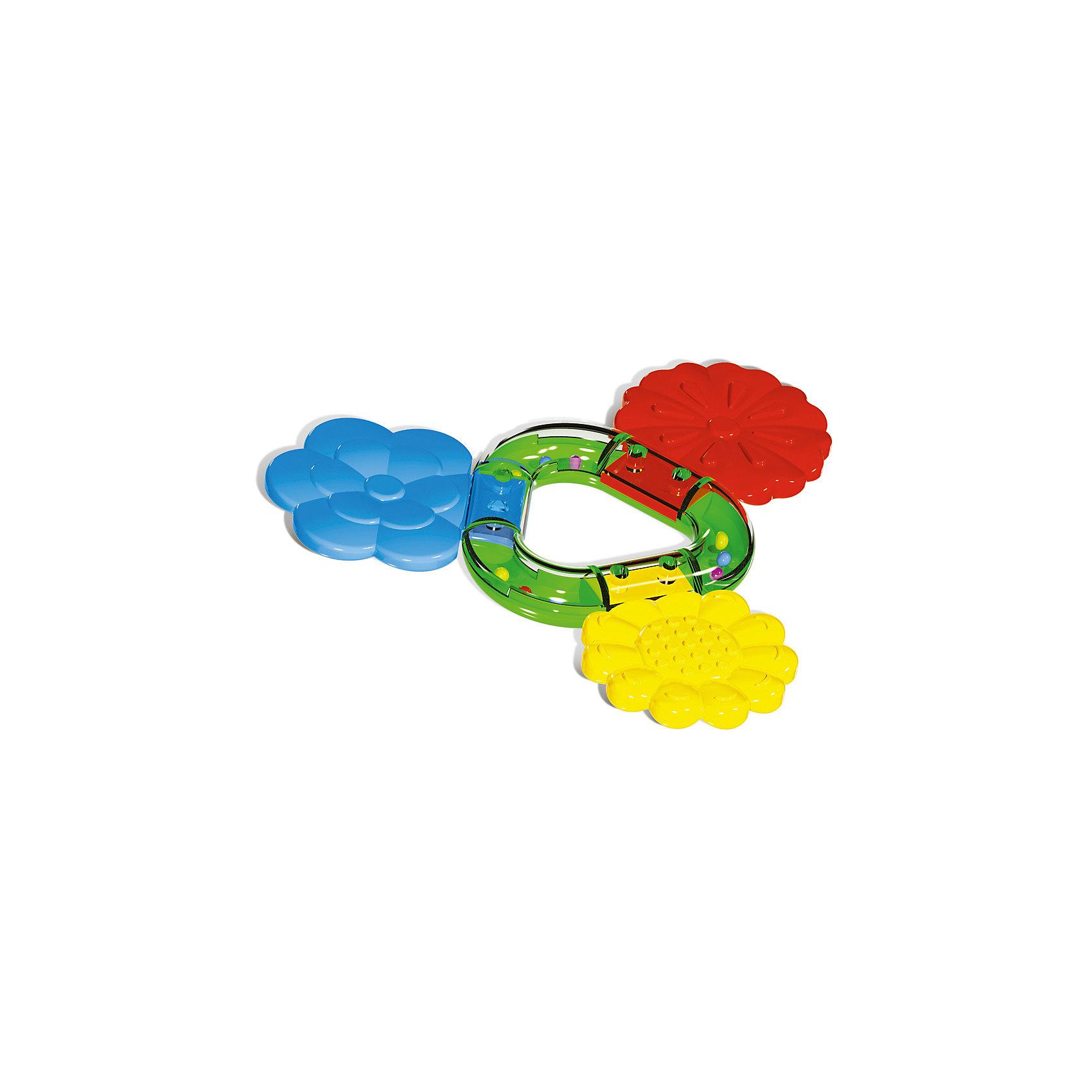 Прорезыватель Букетик, StellarПрорезыватели<br>Характеристики товара:<br><br>- цвет: разноцветный;<br>- материал: пластик;<br>- размер: 13х2х14 см.<br><br>Детский яркий прорезыватель – отличный подарок для ребенка. В процессе игры с ним ребенок развивает моторику, тактильное восприятие, воображение, внимание и координацию движений, слуховые навыки. Этот прорезыватель сделан специально для маленьких ручек ребёнка. <br>Такая игрушка позволит облегчить для малыша и мамы процесс прорезания зубов и уменьшить неприятные ощущения. Изделие произведено из качественных материалов, безопасных для ребенка.<br><br>Прорезыватель Букетик от бренда Stellar можно купить в нашем интернет-магазине.<br><br>Ширина мм: 145<br>Глубина мм: 15<br>Высота мм: 250<br>Вес г: 45<br>Возраст от месяцев: -2147483648<br>Возраст до месяцев: 2147483647<br>Пол: Унисекс<br>Возраст: Детский<br>SKU: 5079966