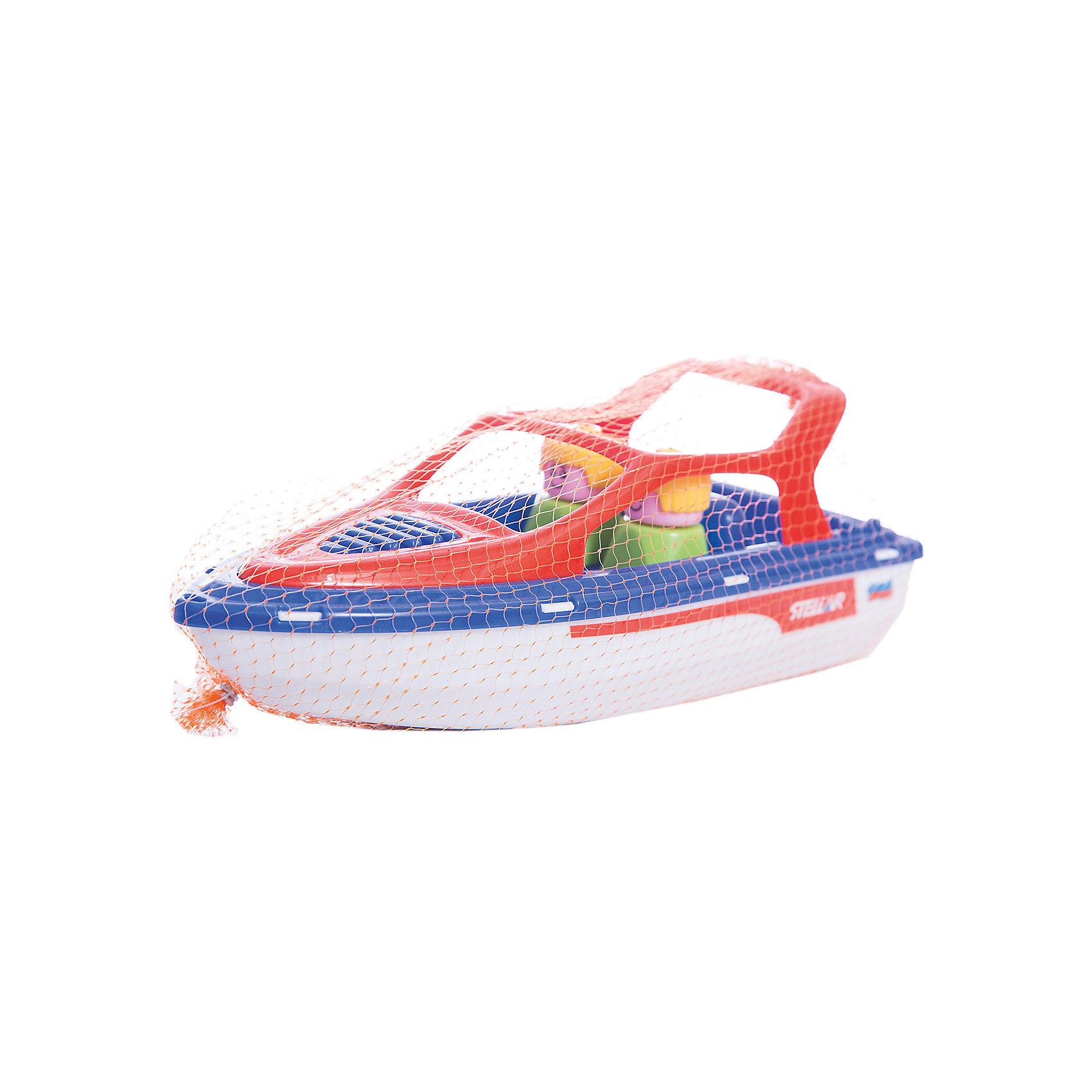 Катер Анапа, StellarКорабли и лодки<br>Характеристики товара:<br><br>- цвет: разноцветный;<br>- материал: пластик;<br>- возраст: от 3 лет;<br>- пассажиры вынимаются.<br><br>Такие игрушки, как этот катер, могут не только развлекать малыша, но и помогать его всестороннему развитию. Этот катер поможет формированию разных навыков, он помогает развить тактильное восприятие, мелкую моторику, воображение, внимание и логику.<br>Изделие представляет собой набор пластиковый катер, похожий на настоящий. Также, в нем сидят два пассажира, которых можно вынуть из игрушки. С таким катером можно придумать множество игр! Изделие произведено из качественных материалов, безопасных для ребенка.<br><br>Катер Анапа от бренда Stellar можно купить в нашем интернет-магазине.<br><br>Ширина мм: 290<br>Глубина мм: 110<br>Высота мм: 100<br>Вес г: 170<br>Возраст от месяцев: 36<br>Возраст до месяцев: 2147483647<br>Пол: Мужской<br>Возраст: Детский<br>SKU: 5079968