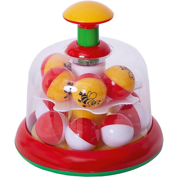 Юла-карусель с шариками, StellarЮлы, неваляшки<br>Характеристики товара:<br><br>- цвет: разноцветный;<br>- материал: пластик;<br>- для самых маленьких.<br><br>Детская развивающая игрушка в виде яркой юлы – отличный подарок для ребенка. В процессе игры с ней ребенок развивает моторику, тактильное восприятие, воображение, внимание и координацию движений, осваивает причинно-следственные связи. Игрушка издает при вращении приятный звук. Эта юла сделана специально для маленьких ручек ребёнка. <br>Такая игрушка позволит малышу с детства развивать свои способности. Изделие произведено из качественных материалов, безопасных для ребенка.<br><br>Юлу-карусель с шариками от бренда Stellar можно купить в нашем интернет-магазине.<br>Ширина мм: 170; Глубина мм: 170; Высота мм: 350; Вес г: 390; Возраст от месяцев: 12; Возраст до месяцев: 2147483647; Пол: Унисекс; Возраст: Детский; SKU: 5079970;