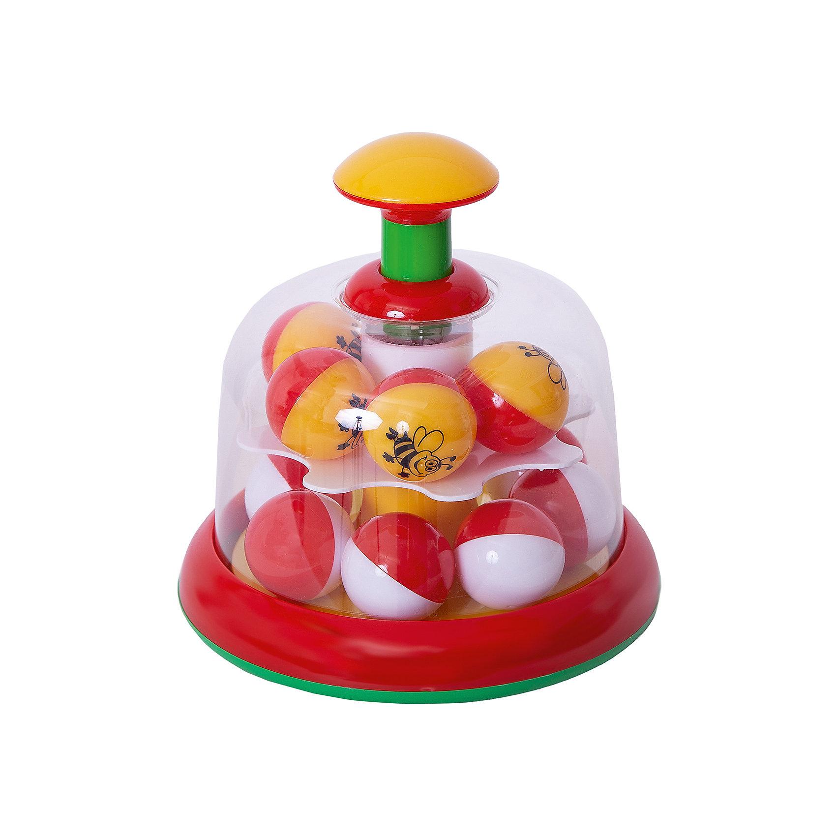 Юла-карусель с шариками, StellarХарактеристики товара:<br><br>- цвет: разноцветный;<br>- материал: пластик;<br>- для самых маленьких.<br><br>Детская развивающая игрушка в виде яркой юлы – отличный подарок для ребенка. В процессе игры с ней ребенок развивает моторику, тактильное восприятие, воображение, внимание и координацию движений, осваивает причинно-следственные связи. Игрушка издает при вращении приятный звук. Эта юла сделана специально для маленьких ручек ребёнка. <br>Такая игрушка позволит малышу с детства развивать свои способности. Изделие произведено из качественных материалов, безопасных для ребенка.<br><br>Юлу-карусель с шариками от бренда Stellar можно купить в нашем интернет-магазине.<br><br>Ширина мм: 170<br>Глубина мм: 170<br>Высота мм: 350<br>Вес г: 390<br>Возраст от месяцев: 12<br>Возраст до месяцев: 2147483647<br>Пол: Унисекс<br>Возраст: Детский<br>SKU: 5079970