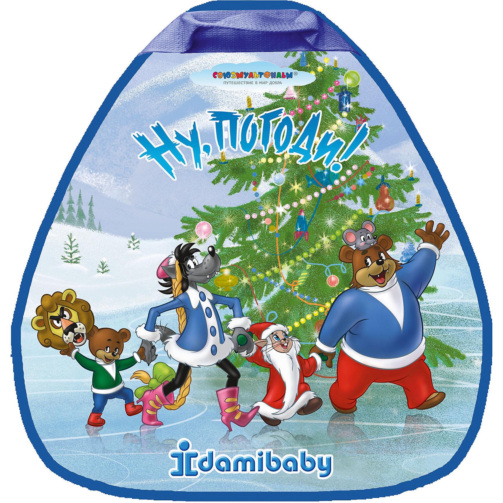 Детская ледянка Ну, Погоди!, ДэмиЛедянки<br>Характеристики товара:<br><br>- цвет: разноцветный;<br>- материал: полимер;<br>- есть ручка;<br>- возраст: от 3 лет.<br><br>Детская яркая ледянка – отличный подарок для ребенка. В процессе зимних игр ребенок развивает моторику, тактильное восприятие, воображение, внимание и координацию движений, осваивает причинно-следственные связи. Игрушка украшена изображением любимых малышами мультяшных героев. Эта ледянка сделана специально для детей. <br>Такая игрушка позволит малышу в полной мере наслаждаться зимним отдыхом. Ледянка дополнена удобной надежной ручкой. Изделие произведено из качественных материалов, безопасных для ребенка.<br><br>Детскую ледянку Ну, Погоди! от бренда Дэми можно купить в нашем интернет-магазине.<br><br>Ширина мм: 500<br>Глубина мм: 25<br>Высота мм: 525<br>Вес г: 400<br>Возраст от месяцев: 36<br>Возраст до месяцев: 2147483647<br>Пол: Унисекс<br>Возраст: Детский<br>SKU: 5082297