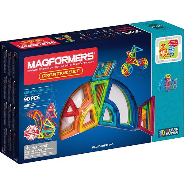 Магнитный конструктор Creative 90, MAGFORMERS