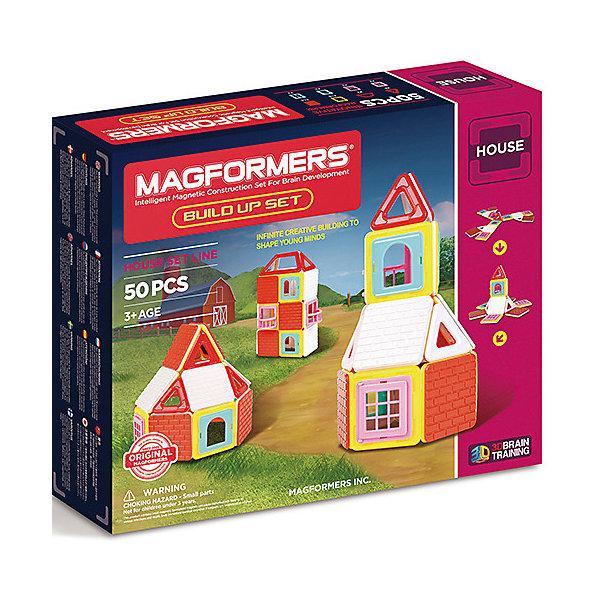Магнитный конструктор Build Up, MAGFORMERSМагнитные конструкторы<br>Характеристики товара:<br><br>- цвет: разноцветный;<br>- материал: магнит, пластик;<br>- деталей: 35;<br>- комплектация: детали конструктора, упаковка.<br><br>Конструкторы могут не только развлекать ребенка, но и помогать его всестороннему развитию. Этот набор предназначен для формирования разных навыков, он помогает развить тактильное восприятие, мелкую моторику, воображение, внимание и логику.<br>Изделие представляет собой набор из 35 магнитных деталей разных форм, с помощью которых можно сделать различные конструкции. Конструктор из магнитных деталей очень нравится детям! С таким набором можно придумать множество игр! Изделие произведено из качественных материалов, безопасных для ребенка.<br><br>Магнитный конструктор Build Upt, от бренда MAGFORMERS можно купить в нашем интернет-магазине.<br><br>Ширина мм: 240<br>Глубина мм: 290<br>Высота мм: 65<br>Вес г: 892<br>Возраст от месяцев: 36<br>Возраст до месяцев: 2147483647<br>Пол: Унисекс<br>Возраст: Детский<br>SKU: 5082417