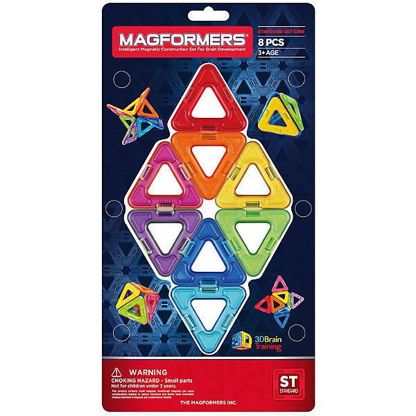 Магнитный конструктор Треугольники, MAGFORMERS