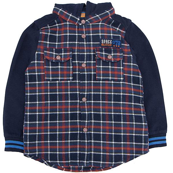 Рубашка   для мальчика CHICCOБлузки и рубашки<br>Рубашка CHICCO для мальчика<br><br>Характеристики:<br><br>Материал: хлопковая ткань<br>Силуэт: свободный<br>Тип застежки: кнопки<br>Длина рукава: длинные<br>Тип карманов: два кармана на кнопках<br>Принт: клетка<br><br>Состав: 100% хлопок<br><br>Рубашку CHICCO для мальчика можно купить в нашем интернет-магазине.<br>Ширина мм: 190; Глубина мм: 74; Высота мм: 229; Вес г: 236; Цвет: темно-синий; Возраст от месяцев: 48; Возраст до месяцев: 60; Пол: Мужской; Возраст: Детский; Размер: 110,104,98,92,128,122,116; SKU: 5082516;