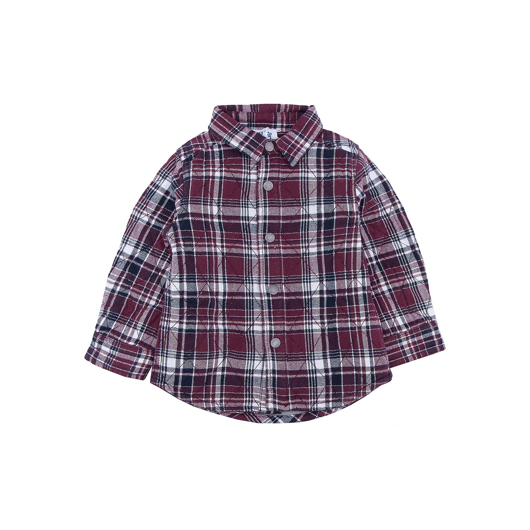 Рубашка   для мальчика CHICCOКофточки и распашонки<br>Рубашка CHICCO для мальчика<br><br>Характеристики:<br><br>Материал: хлопковая ткань<br>Силуэт: свободный<br>Тип застежки: кнопки<br>Длина рукава: длинные<br>Тип карманов: без карманов<br>Принт: клетка, ромбы<br><br>Состав: 100% хлопок<br><br>Рубашку CHICCO для мальчика можно купить в нашем интернет-магазине.<br><br>Ширина мм: 190<br>Глубина мм: 74<br>Высота мм: 229<br>Вес г: 236<br>Цвет: синий<br>Возраст от месяцев: 24<br>Возраст до месяцев: 36<br>Пол: Мужской<br>Возраст: Детский<br>Размер: 98,104,110,116,122,128,74,80,86,92<br>SKU: 5082524