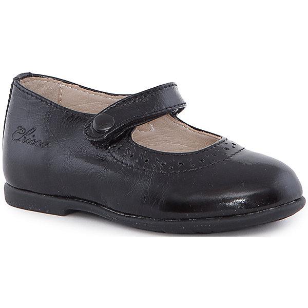 Туфли для девочки  CHICCOТуфли<br>Балетки для девочки CHICCO<br><br>Характеристики:<br><br>Тип застежки: на липучке<br>Тип обуви: школьные, на каждый день<br>Особенности обуви: маленький каблучок<br>Декоративные элементы: пуговица на застежке, имитация<br>Цвет: черный<br><br>Внешний материал: 100% кожа<br>Внутренний материал: 100% кожа<br><br>Балетки для девочки CHICCO можно купить в нашем интернет-магазине.<br><br>Ширина мм: 227<br>Глубина мм: 145<br>Высота мм: 124<br>Вес г: 325<br>Цвет: черный<br>Возраст от месяцев: 108<br>Возраст до месяцев: 120<br>Пол: Женский<br>Возраст: Детский<br>Размер: 33,22,34,32,31,30,29,28,27,26,25,24,23<br>SKU: 5082779