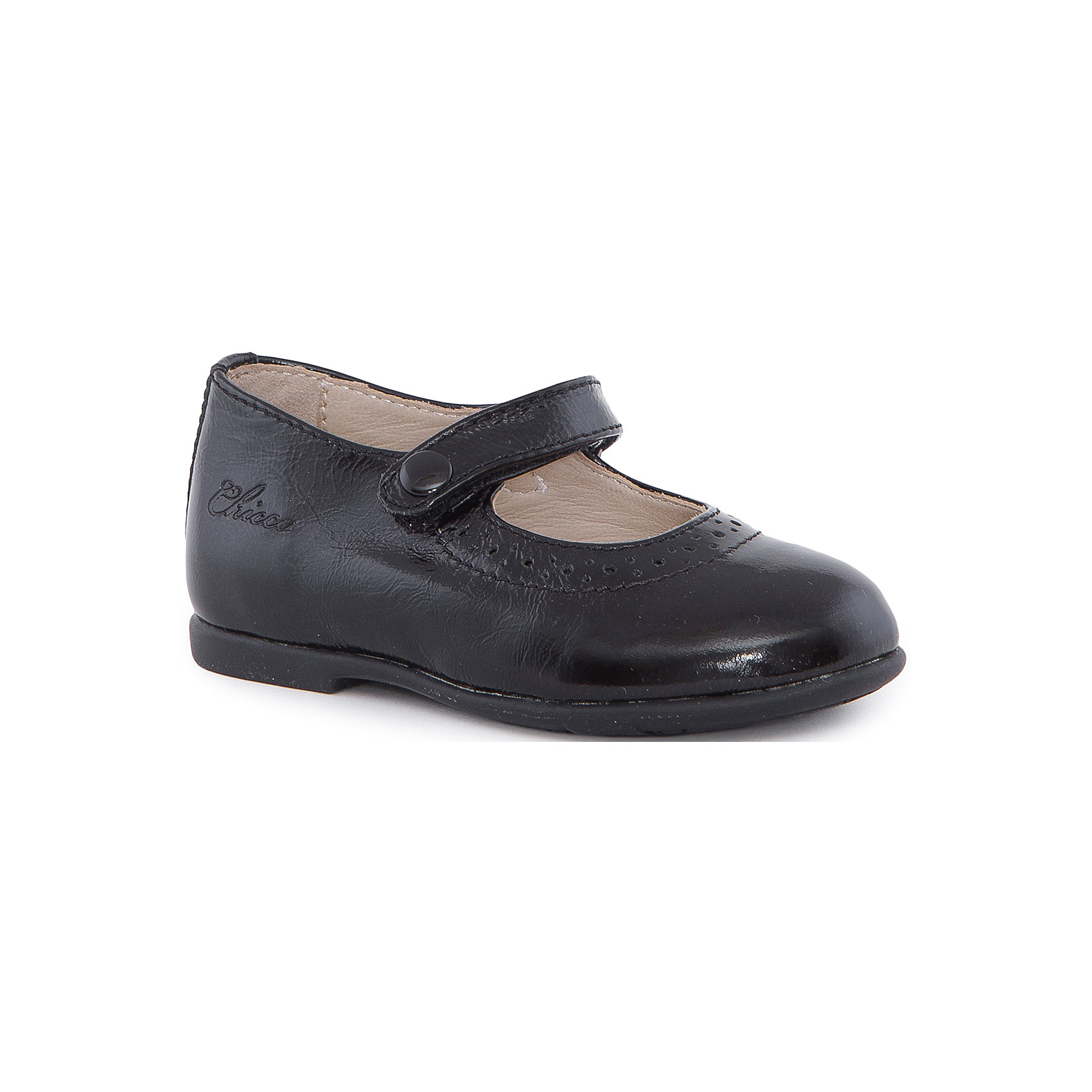 Туфли для девочки  CHICCOТуфли<br>Балетки для девочки CHICCO<br><br>Характеристики:<br><br>Тип застежки: на липучке<br>Тип обуви: школьные, на каждый день<br>Особенности обуви: маленький каблучок<br>Декоративные элементы: пуговица на застежке, имитация<br>Цвет: черный<br><br>Внешний материал: 100% кожа<br>Внутренний материал: 100% кожа<br><br>Балетки для девочки CHICCO можно купить в нашем интернет-магазине.<br><br>Ширина мм: 227<br>Глубина мм: 145<br>Высота мм: 124<br>Вес г: 325<br>Цвет: черный<br>Возраст от месяцев: 15<br>Возраст до месяцев: 18<br>Пол: Женский<br>Возраст: Детский<br>Размер: 22,34,29,30,23,24,25,26,27,31,28,32,33<br>SKU: 5082779