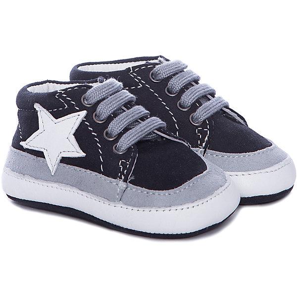 Пинетки  для мальчика  CHICCOПинетки<br>Полуботинки для мальчика CHICCO<br><br>Характеристики:<br><br>Тип застежки: шнурки<br>Тип обуви: спортивные<br>Особенности обуви: кожаные<br>Декоративные элементы: звезда<br>Цвет: синий<br><br>Материал: 100% кожа<br><br>Полуботинки для мальчика CHICCO можно купить в нашем интернет-магазине.<br><br>Ширина мм: 262<br>Глубина мм: 176<br>Высота мм: 97<br>Вес г: 427<br>Цвет: синий<br>Возраст от месяцев: 6<br>Возраст до месяцев: 9<br>Пол: Мужской<br>Возраст: Детский<br>Размер: 19,18<br>SKU: 5082837
