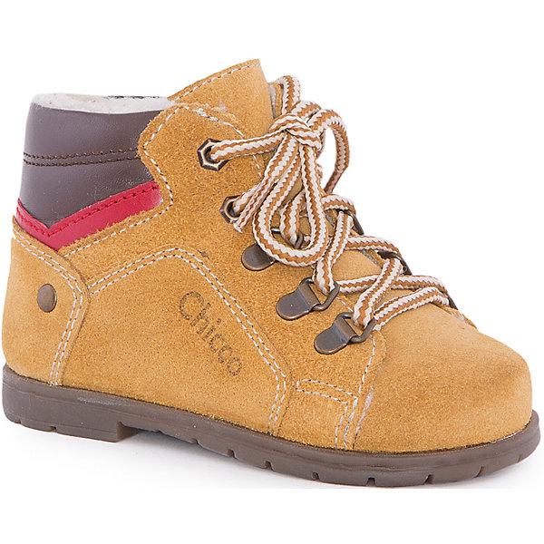 Полуботинки  для мальчика  CHICCOОбувь для малышей<br>Ботинки для мальчика CHICCO<br><br>Характеристики:<br><br>Тип застежки: шнурки + боковая молния<br>Тип обуви: высокие<br>Особенности обуви: кожаные<br>Декоративные элементы: маленький каблучок<br>Цвет: желтый<br><br>Материал: 100% кожа<br><br>Ботинки для мальчика CHICCO можно купить в нашем интернет-магазине.<br><br>Ширина мм: 262<br>Глубина мм: 176<br>Высота мм: 97<br>Вес г: 427<br>Цвет: желтый<br>Возраст от месяцев: 15<br>Возраст до месяцев: 18<br>Пол: Мужской<br>Возраст: Детский<br>Размер: 22,21,20,19,23<br>SKU: 5082859
