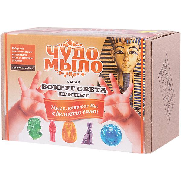 Чудо-Мыло Египет (малый набор)Наборы для создания мыла<br>Характеристики:<br><br>• размер: 19x11x13см.;<br>• в набор входит: прозрачная мыльная основа, красители и ароматизатор, керамическая чаша, перчатки, палочки, формы для мыла 3 шт.;<br>• вес: 400 г.;<br>• для детей в возрасте: от 8 лет;<br>• страна производитель: Россия.<br><br>Этот удивительный набор от Master IQ2 (Мастер АйКью2) позволит перенестись на какое-то время в необычайный мир мыловарения. Вместе с простой пошаговой инструкцией ребёнок легко может сделать красивое мыло в стиле Древнего Египта самостоятельно. Благодаря этому интересному набору ребёнок может погрузиться в историю Древнего мира и почувствовать себя путешественником во времени.<br><br>Набор для изготовления мыла станет отличным помощником в сфере художественного развития и прекрасно подойдёт для развития моторики рук, усидчивости, аккуратности. Кроме того, задание повышает самооценку, ведь ребёнок смог сам сделать это красивое мыло.<br><br>Чудо-Мыло Египет (малый набор) NEW можно купить в нашем интернет-магазине.<br>Ширина мм: 182; Глубина мм: 122; Высота мм: 102; Вес г: 476; Возраст от месяцев: 96; Возраст до месяцев: 180; Пол: Женский; Возраст: Детский; SKU: 5083855;