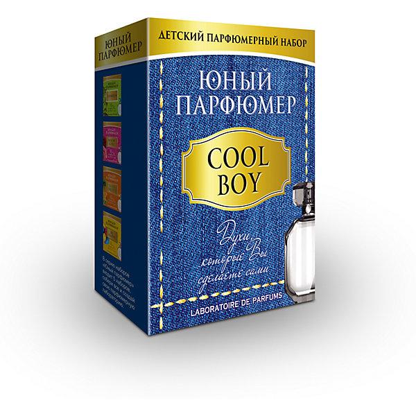 Набор Юный Парфюмер (мини) COOL BOYНаборы для создания парфюмерии<br>Характеристики:<br><br>• размер: 12x5x15см.;<br>• в набор входит: 3 вида парфюмерного масла, полисорбат, пробирки стеклянные, фиолки пустые, флакон-роллер, полоски - тестер, пипетки Пастера;<br>• состав: парфюмерное масло, стекло;<br>• вес: 120 г.;<br>• для детей в возрасте: от 8 лет;<br>• страна производитель: Россия.<br><br>Этот необычный набор от производителя Master IQ2 (Мастер АйКью2) поможет ребенку открыть для себя новый вид искусства - парфюмерию. Вместе с этим набором можно научиться создавать собственные запахи, различать их между собой и даже обрести свой собственный образ. С помощью семи парфюмерных масел можно создавать понравившиеся комбинации. <br><br>Благодаря парфюмерному набору ребёнок научится правильно подбирать духи, узнает некоторые особенности ароматической композиции и познакомится с историей возникновения парфюмерии. Именно этот набор познакомит более подробно с мужскими ароматами, в состав которых вошли: бергамот, нероли, пачули.<br><br>Набор Юный Парфюмер (мини) COOL BOY (Кул бой) можно купить в нашем интернет-магазине.<br><br>Ширина мм: 120<br>Глубина мм: 50<br>Высота мм: 150<br>Вес г: 120<br>Возраст от месяцев: 96<br>Возраст до месяцев: 180<br>Пол: Мужской<br>Возраст: Детский<br>SKU: 5083873