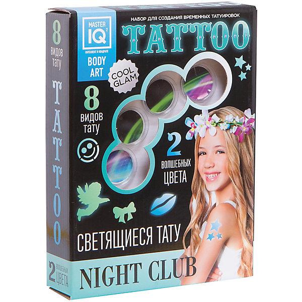 Набор для временных татуировок NIGHT СLUB (светящиеся)
