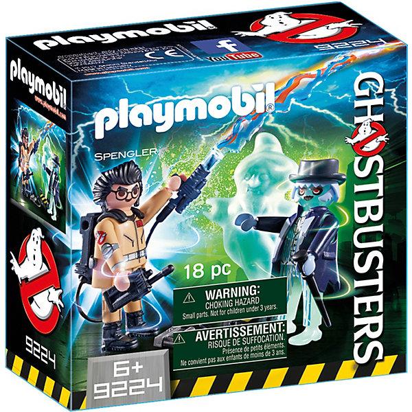 Купить Конструктор Playmobil Охотники за привидениями Игон Спенглер и привидение, PLAYMOBIL®, Унисекс