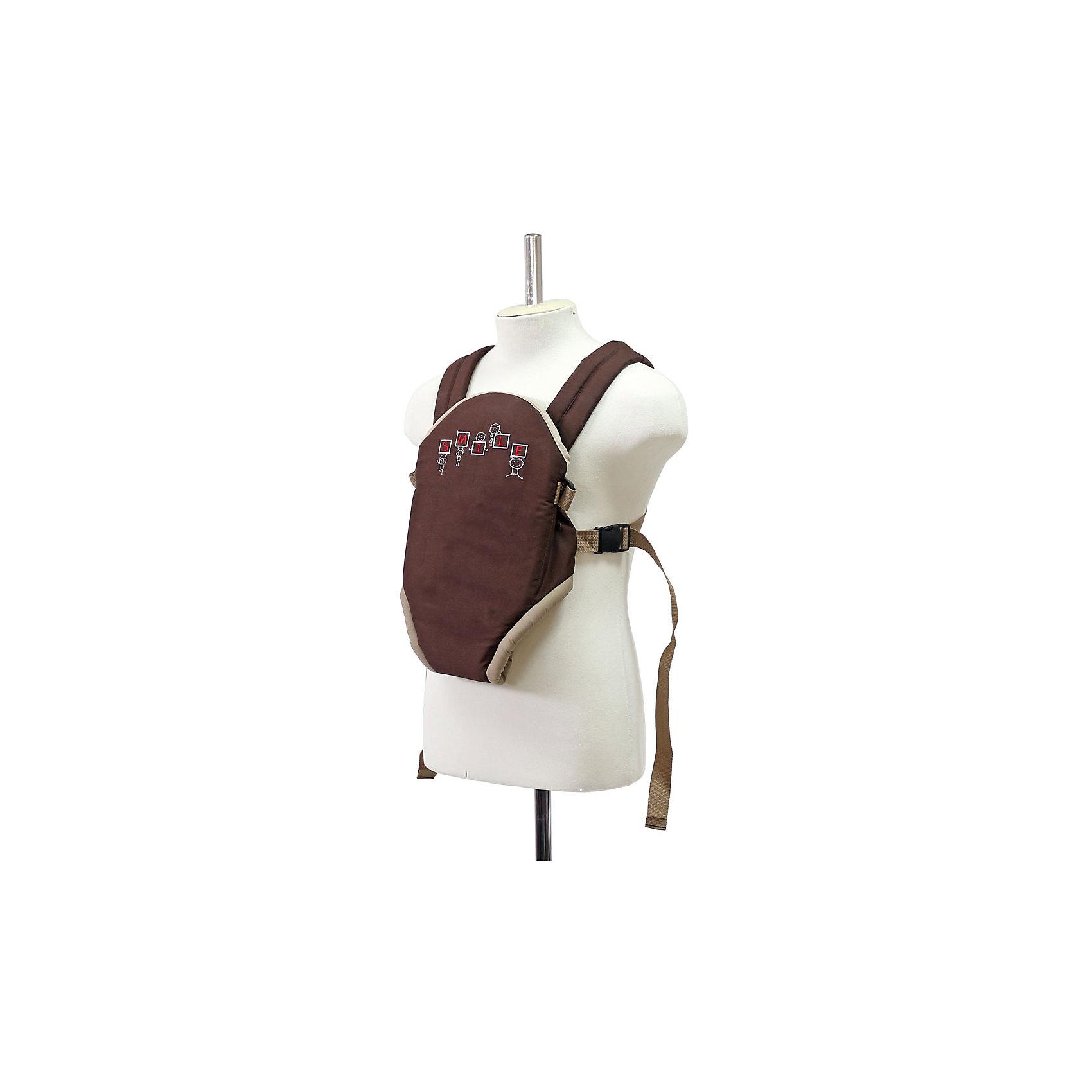 Рюкзак-кенгуру Классика, Топотушки, коричневыйСлинги и рюкзаки-переноски<br>Рюкзак-кенгуру Классика, Топотушки, коричневый<br><br>Характеристики:<br><br>-Возраст: от 2 до 12 месяцев<br>-Вес: от 3 до 11 кг<br>-Цвет: коричневый<br>-Расположение: лицом к родителю<br>-Жесткая спинка<br>-Крепление: пряжки, фиксаторы<br>-Регулируемая длина ремней<br>-Мягкие накладки на плечевые ремни<br><br>Рюкзак-кенгуру Классика, Топотушки, коричневый отлично подойдет для переноски малыша. Рюкзак-кенгуру сделает переноску малыша не только безопасной, но и комфортной. Благодаря жёсткой спинке, спина ребёнка будет зафиксирована, поэтому у него не возникнет боли или дискомфорта. Так же переноска малыша станет комфортна и для родителя. Благодаря мягким накладкам, плечевые ремни не будет натирать кожу. Также регулируемые ремни позволят расположить ребёнка в удобном положении для родителя. <br><br>Рюкзак-кенгуру Классика, Топотушки, коричневый можно приобрести в нашем интернет-магазине.<br><br>Ширина мм: 400<br>Глубина мм: 260<br>Высота мм: 10<br>Вес г: 300<br>Возраст от месяцев: 2<br>Возраст до месяцев: 12<br>Пол: Унисекс<br>Возраст: Детский<br>SKU: 5086323