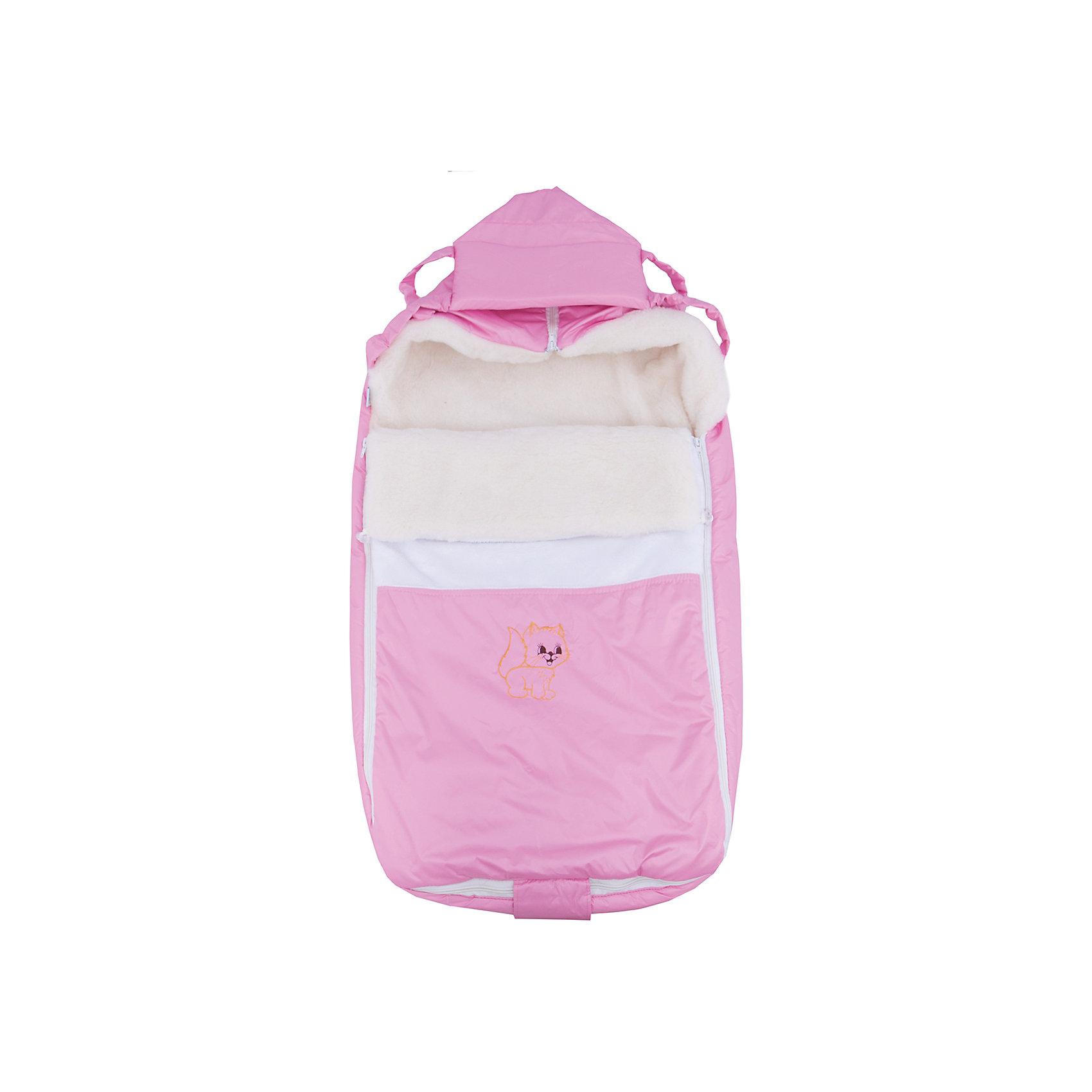 Меховой конверт Ладушка, Топотушки, розовыйЗимние конверты<br>Меховой конверт Ладушка, Топотушки, розовый<br><br>Характеристики:<br><br>-Возраст: от 0 до 7 месяцев<br>-Цвет: розовый<br>-Материал: - влагостойкая ткань снаружи<br>-теплый мех внутри<br><br>Меховой конверт Ладушка, Топотушки, розовый согреет вашего малыша в холодное время года. Благодаря материалу, конверт не промокнет при контакте с водой. Это защитит ребёнка от простуды. В то же время конверт не будет препятствовать поступлению воздуха. По бокам находятся две молнии, поэтому вы сможете быстро и удобно расстегнуть конверт, не потревожив малыша. Конверт трансформируется в плед или теплую подкладку. С меховым конвертом Ладушка прогулки вашего малыша станут теплыми и комфортными. <br><br>Меховой конверт Ладушка, Топотушки, розовый можно приобрести в нашем интернет-магазине.<br><br>Ширина мм: 780<br>Глубина мм: 420<br>Высота мм: 50<br>Вес г: 500<br>Возраст от месяцев: 0<br>Возраст до месяцев: 7<br>Пол: Женский<br>Возраст: Детский<br>SKU: 5086346