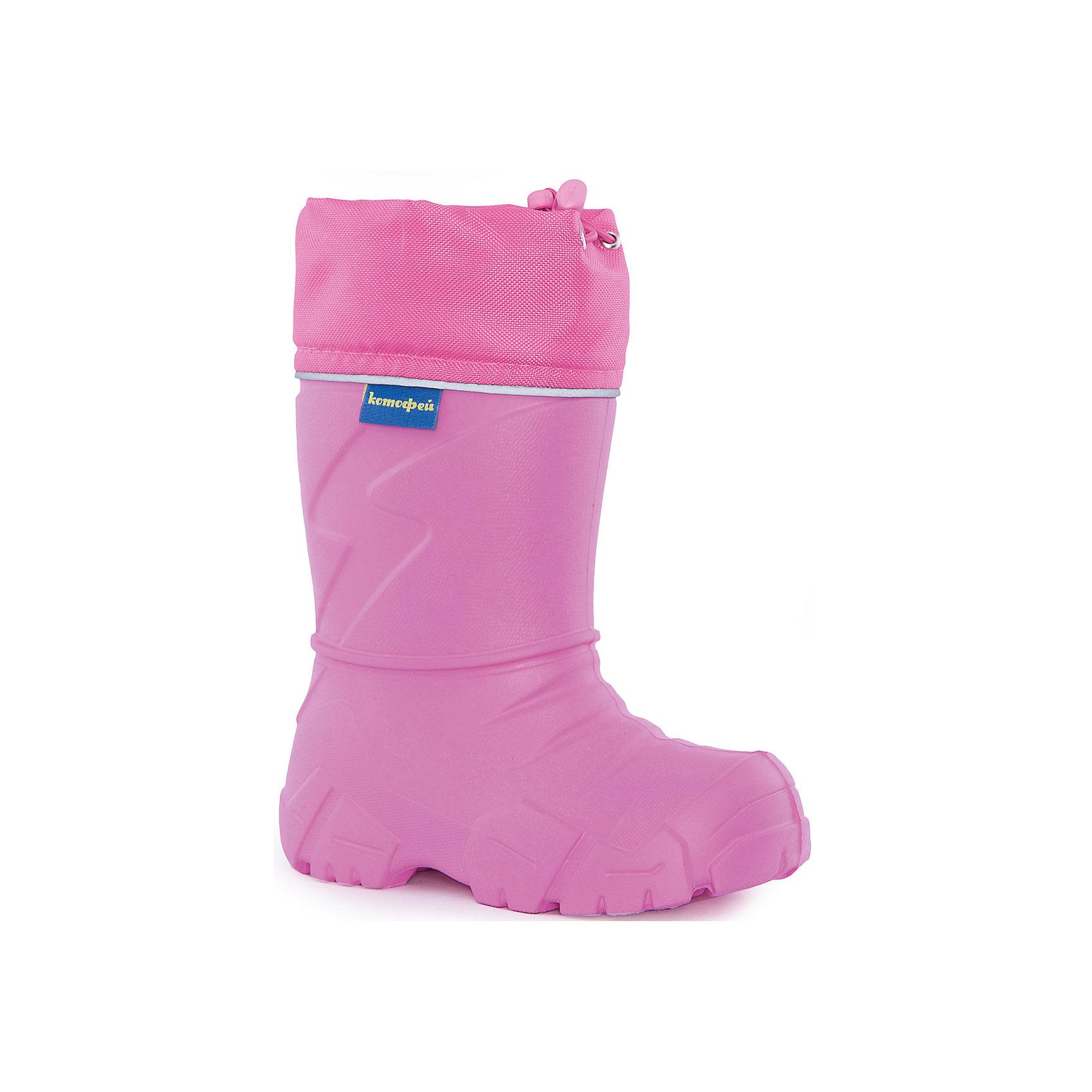 Сапожки для девочки КотофейСапожки для девочки Котофей.<br><br>Характеристики:<br><br>- Внешний материал: ЭВА, текстиль<br>- Внутренний материал: мех шерстяной из натуральной овечьей шерсти<br>- Подошва: ЭВА<br>- Тип застежки: шнурок-утяжка с фиксатором<br>- Вид крепления обуви: литьевой<br>- Цвет: розовый<br>- Сезон: демисезон<br>- Пол: для девочек<br><br>Сапожки для девочки торговой марки Котофей созданы для холодного слякотного межсезонья и сырой снежной зимы. Сапожки изготовлены из невесомого материала ЭВА. Манжет - из непромокаемого материала с фиксатором для создания приталенности и герметичности конструкции. Внутри чулок из натуральной овечьей шерсти. Детская обувь «Котофей» качественна, красива, добротна, комфортна и долговечна. Она производится на Егорьевской обувной фабрике. Жесткий контроль производства и постоянное совершенствование технологий при многолетнем опыте позволяют считать компанию одним из лидеров среди отечественных производителей детской обуви.<br><br>Сапожки для девочки Котофей можно купить в нашем интернет-магазине.<br><br>Ширина мм: 262<br>Глубина мм: 176<br>Высота мм: 97<br>Вес г: 427<br>Цвет: розовый<br>Возраст от месяцев: 60<br>Возраст до месяцев: 72<br>Пол: Женский<br>Возраст: Детский<br>Размер: 29,33,31<br>SKU: 5086885
