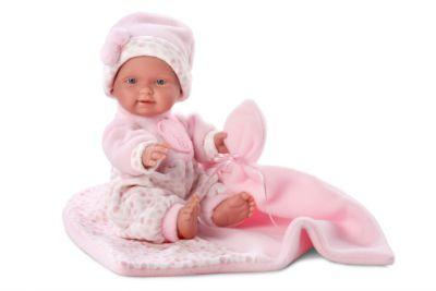 Кукла БэбитаРоза с одеялом, 26 см, Llorens